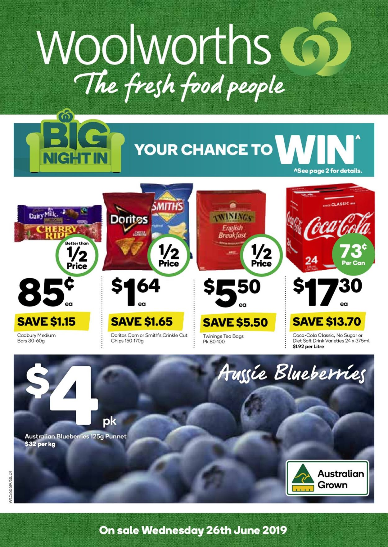 Woolworths Catalogue - 26/06-02/07/2019