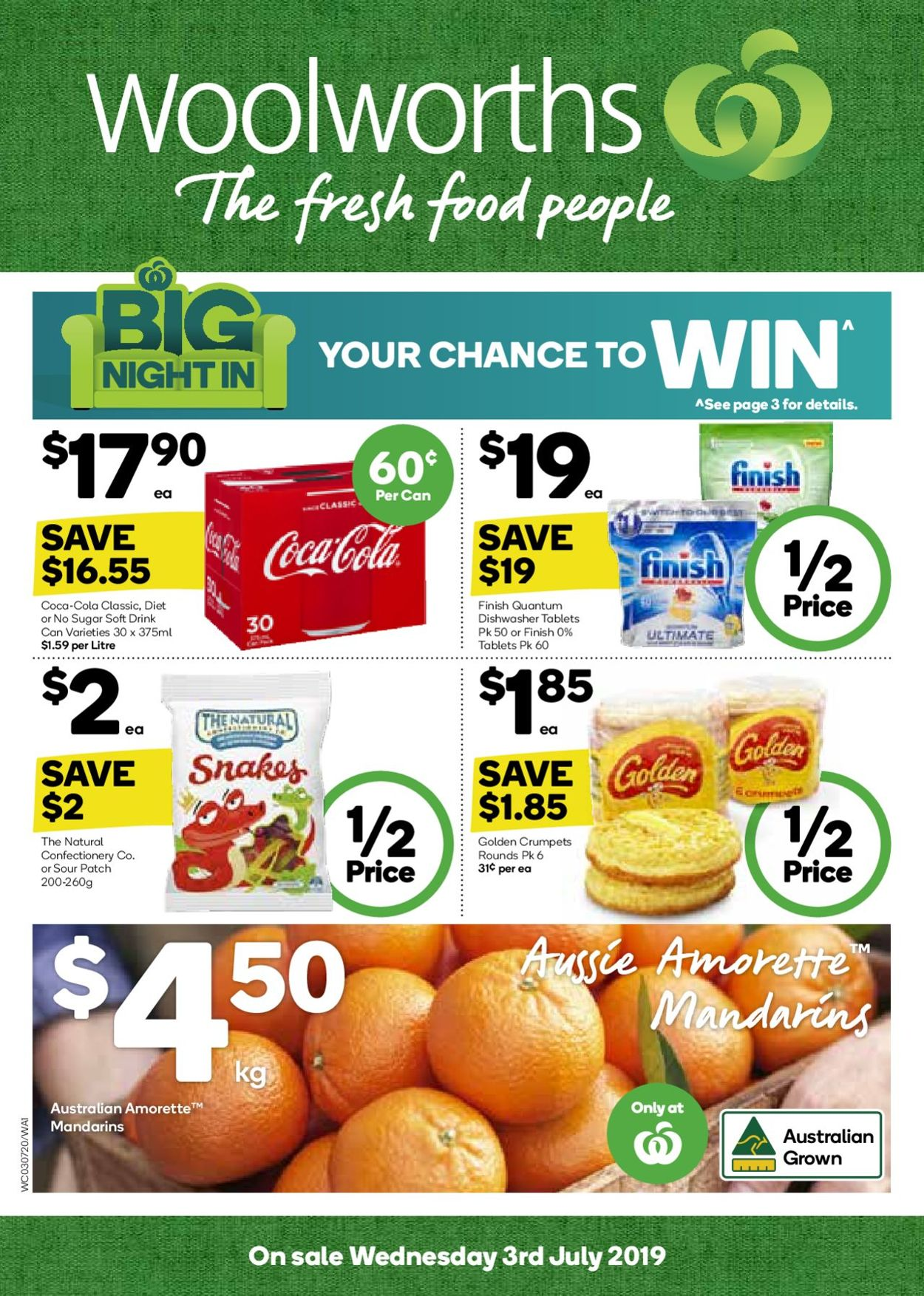 Woolworths Catalogue - 03/07-09/07/2019