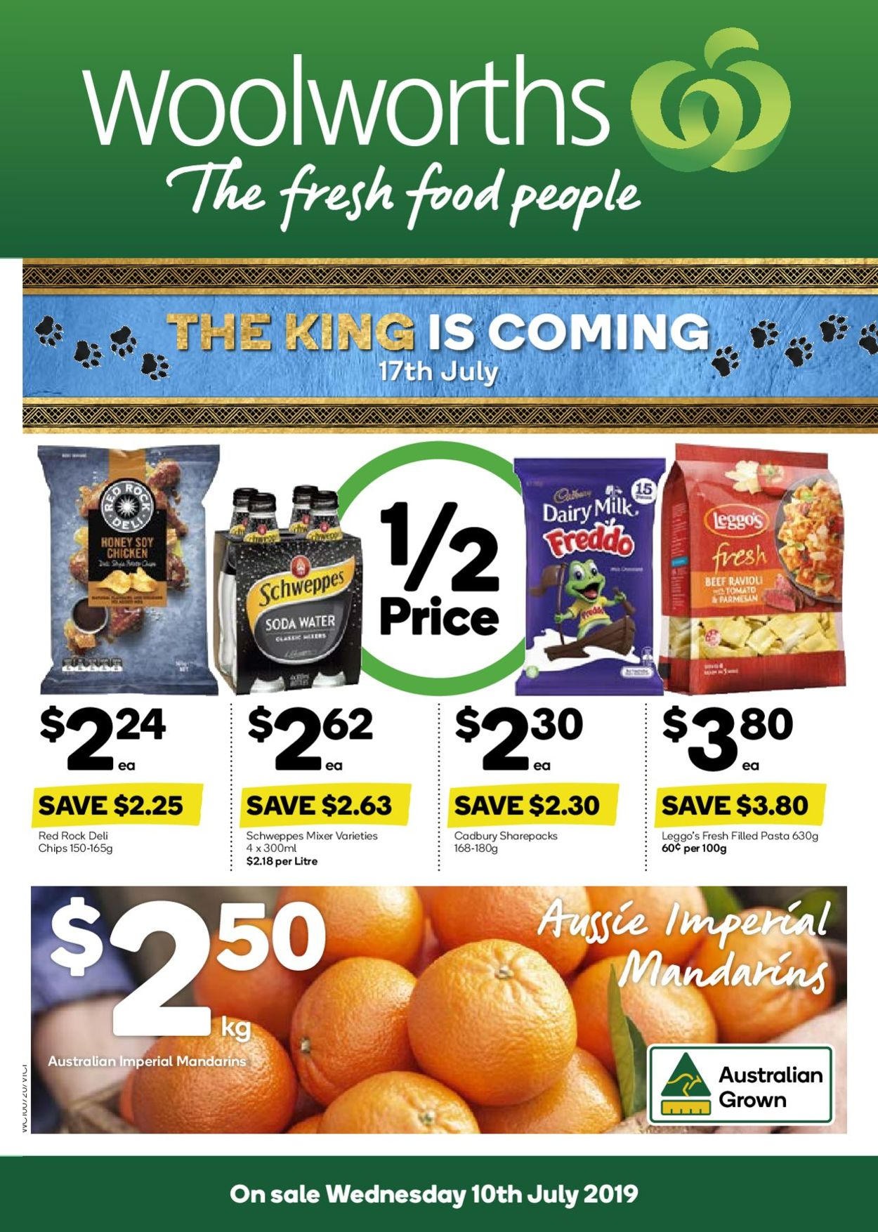 Woolworths Catalogue - 10/07-16/07/2019