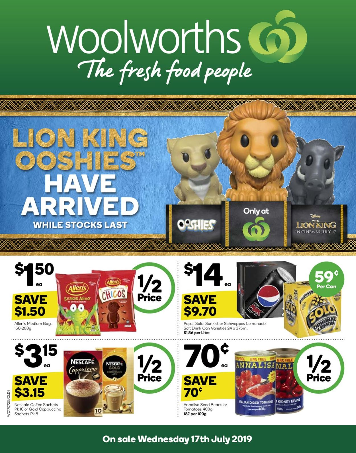 Woolworths Catalogue - 17/07-23/07/2019