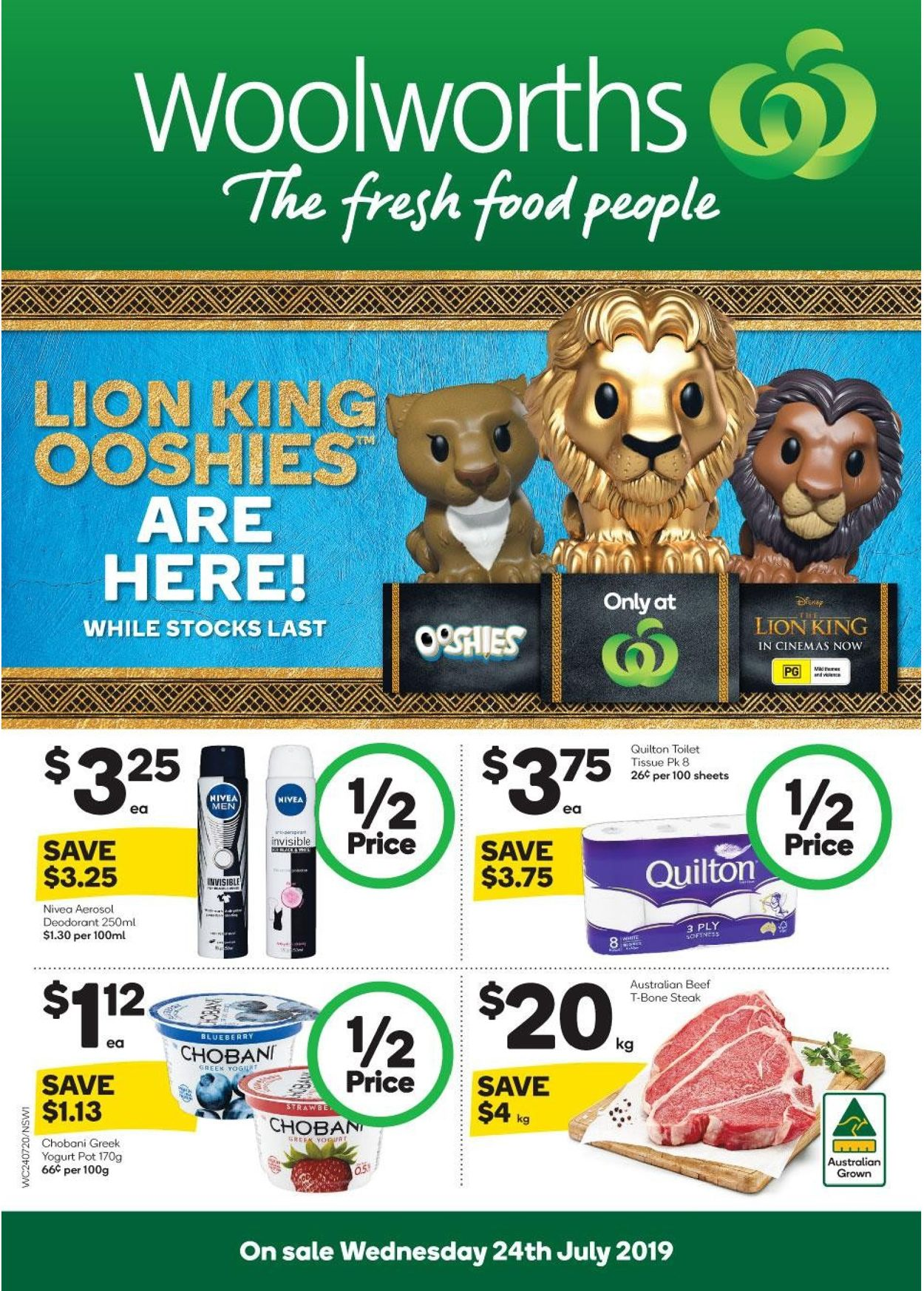 Woolworths Catalogue - 24/07-30/07/2019