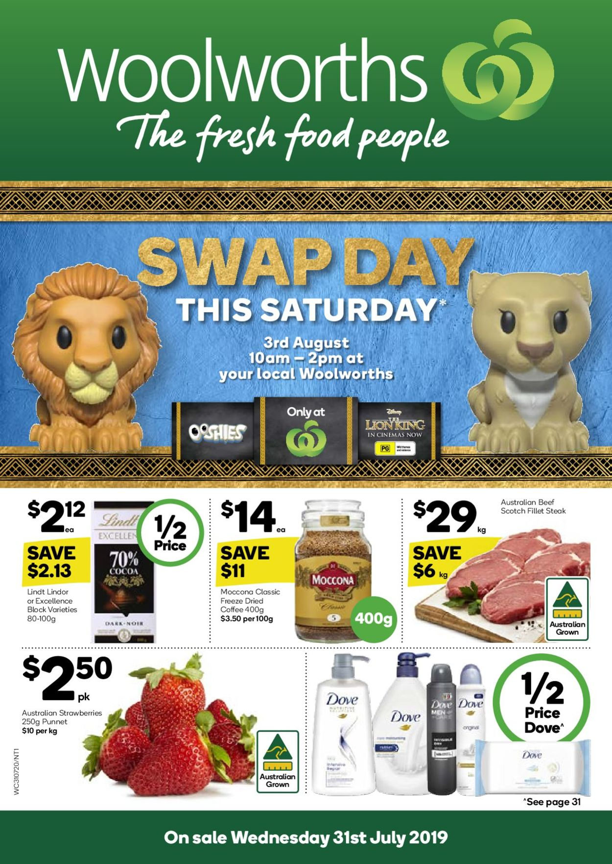 Woolworths Catalogue - 31/07-06/08/2019