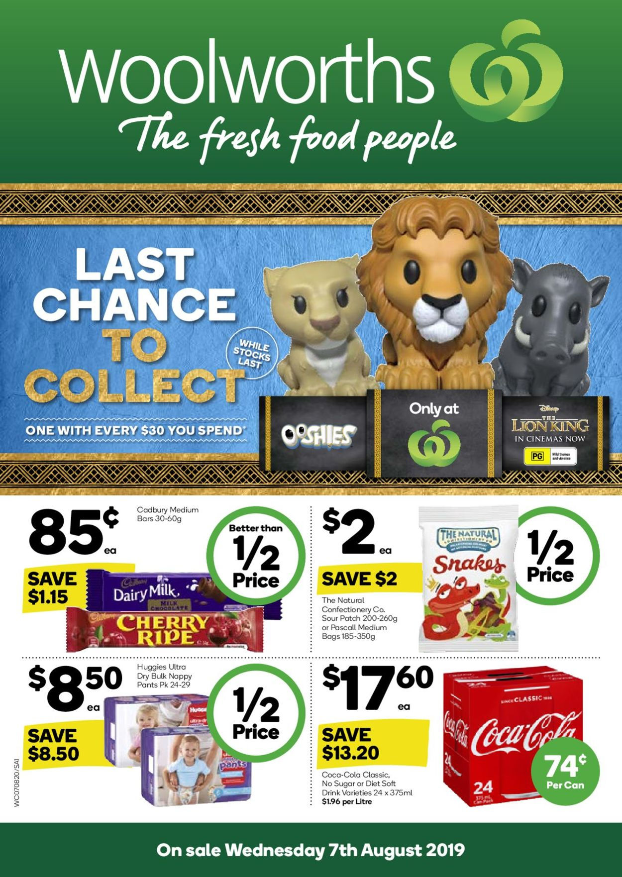 Woolworths Catalogue - 07/08-13/08/2019