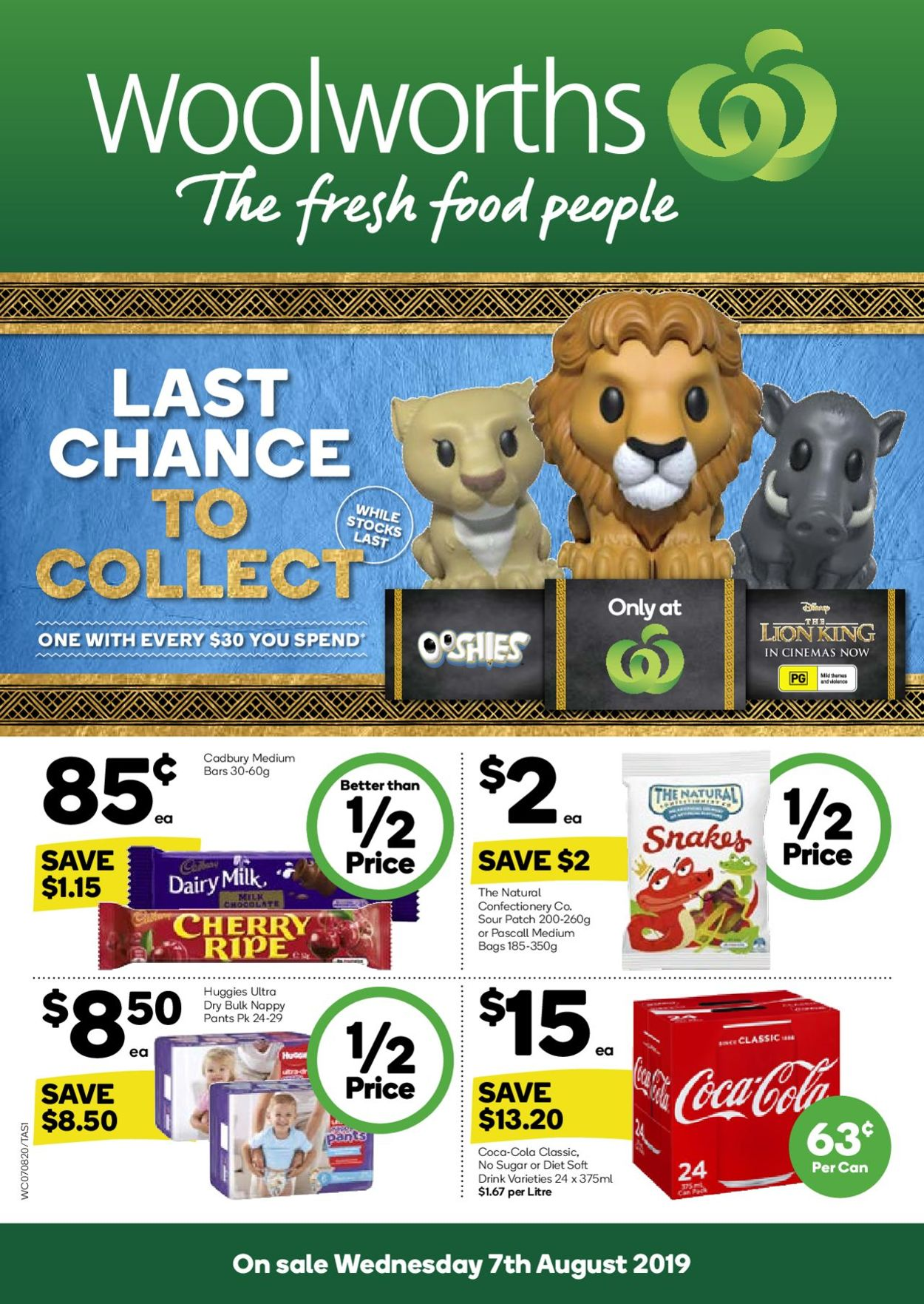 Woolworths Catalogue - 07/08-15/08/2019