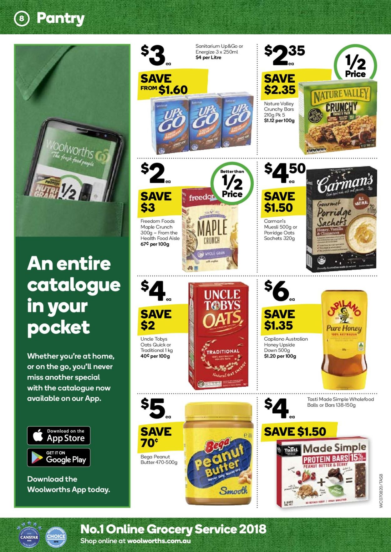Woolworths Catalogue - 07/08-15/08/2019 (Page 8)