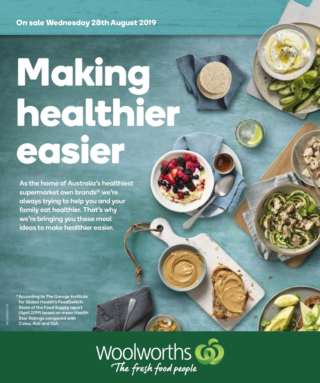 Woolworths Catalogue - 28/08-03/09/2019