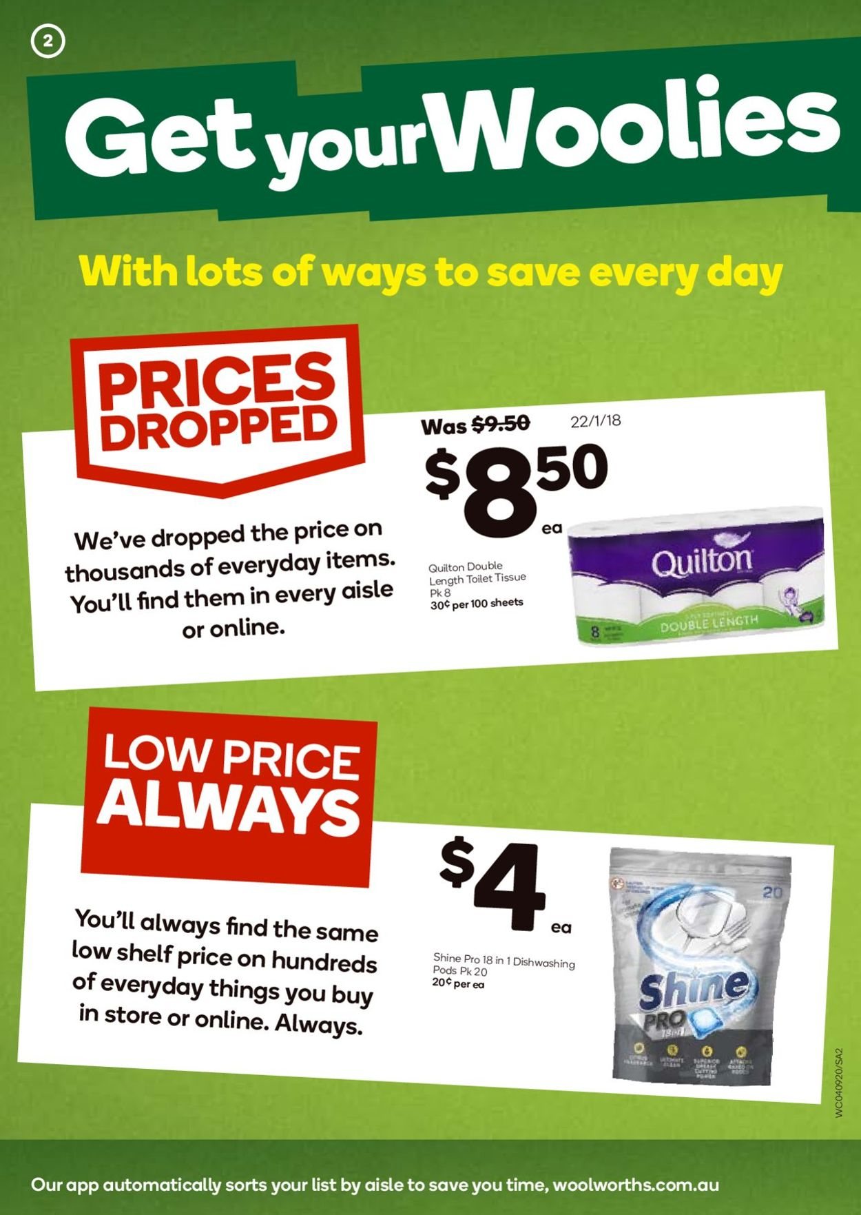 Woolworths Catalogue - 04/09-10/09/2019 (Page 2)