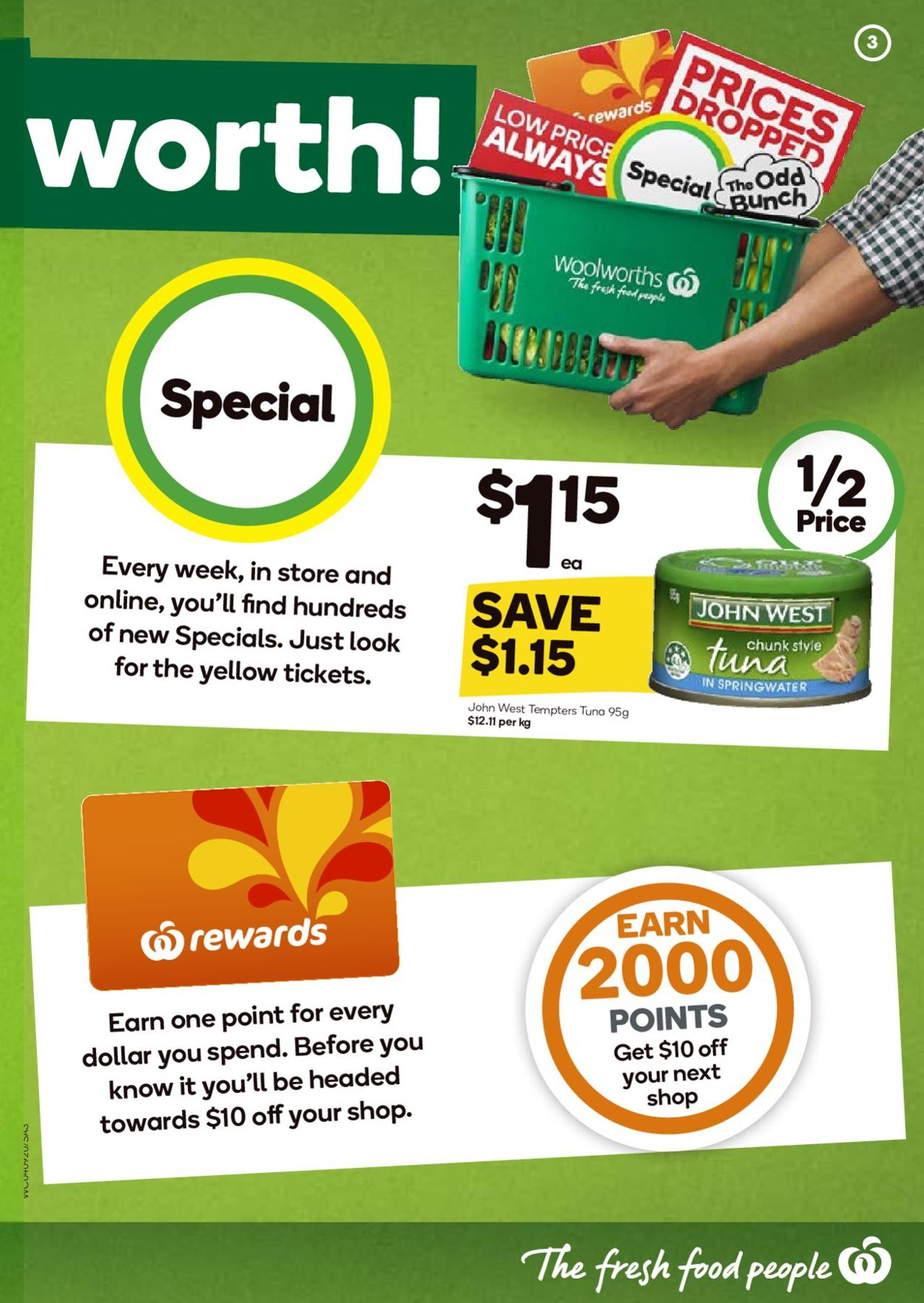 Woolworths Catalogue - 04/09-10/09/2019 (Page 3)