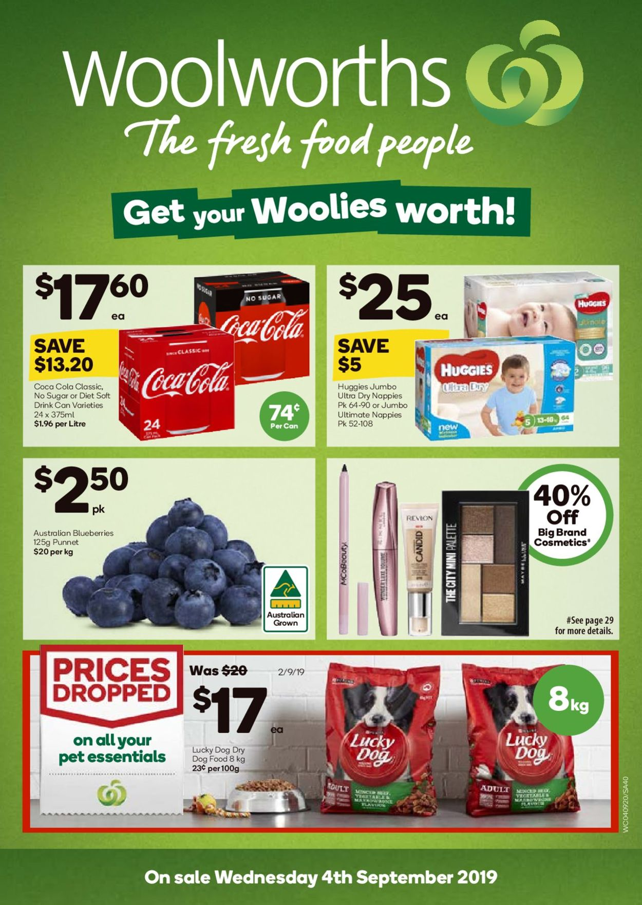 Woolworths Catalogue - 04/09-10/09/2019 (Page 40)