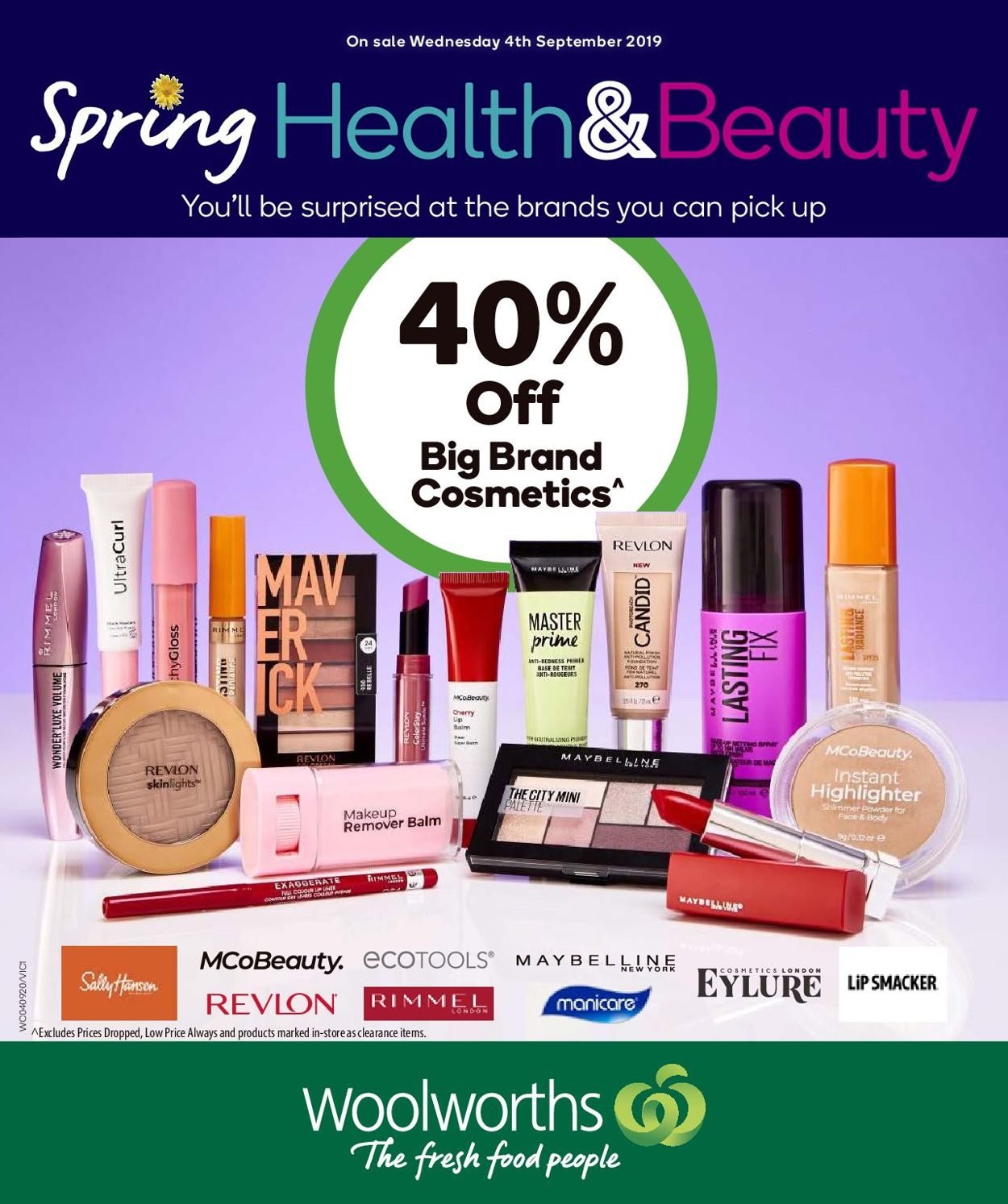 Woolworths Catalogue - 04/09-10/09/2019