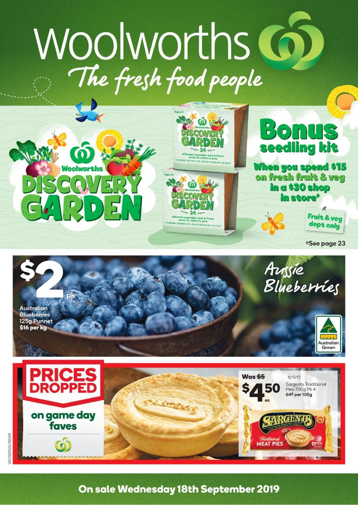 Woolworths Catalogue - 18/09-24/09/2019