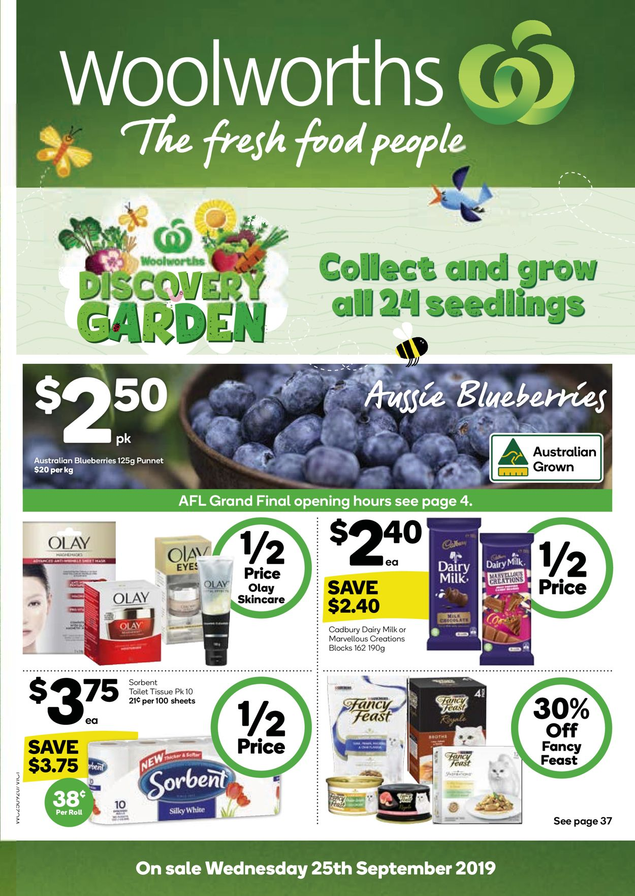 Woolworths Catalogue - 25/09-01/10/2019