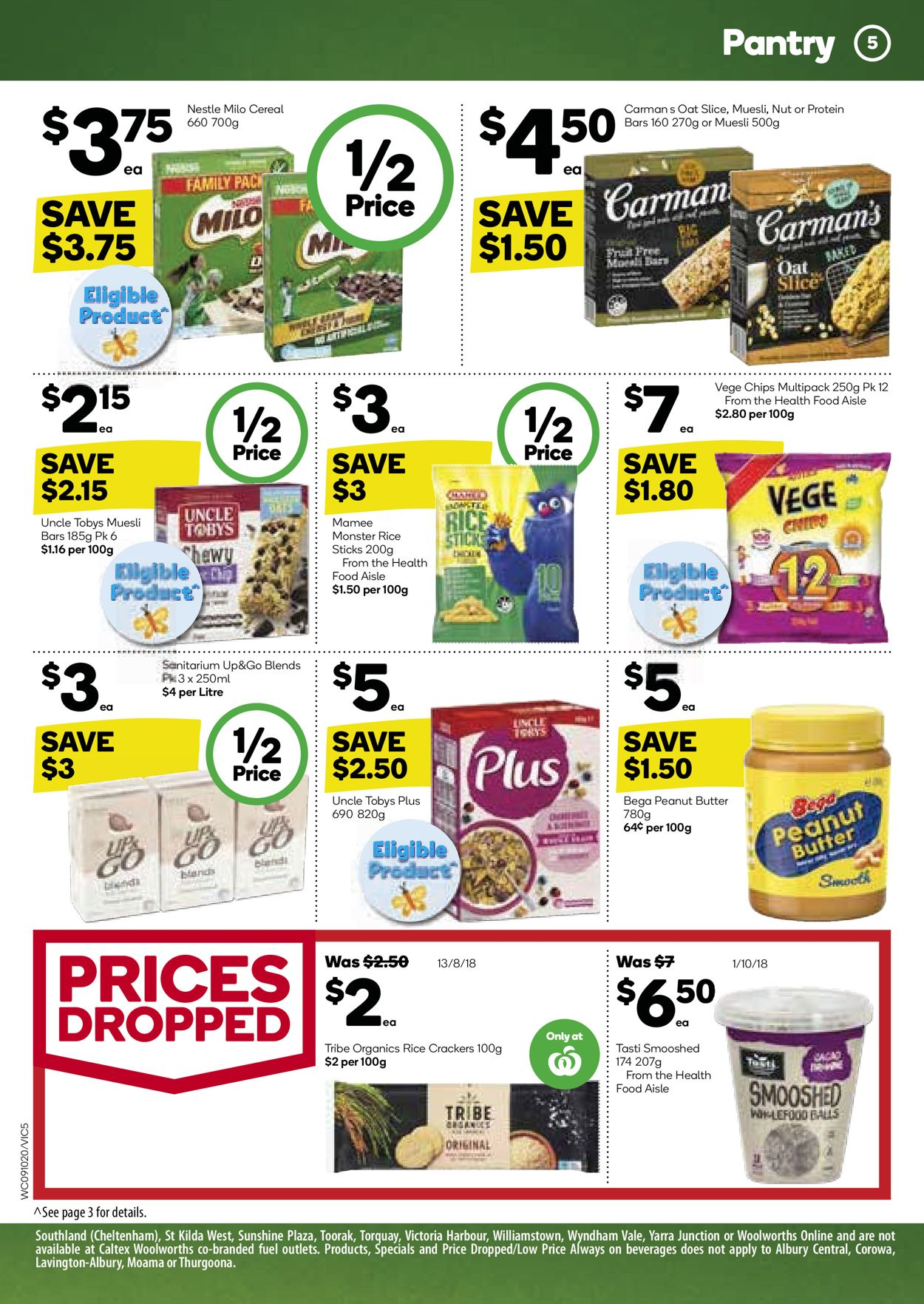 Woolworths Catalogue - 09/10-15/10/2019 (Page 5)