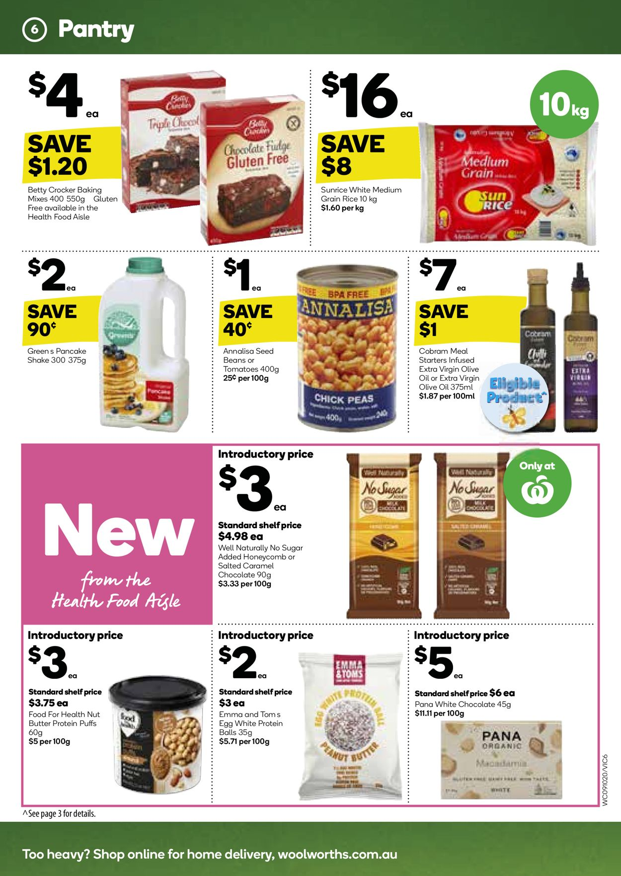 Woolworths Catalogue - 09/10-15/10/2019 (Page 6)