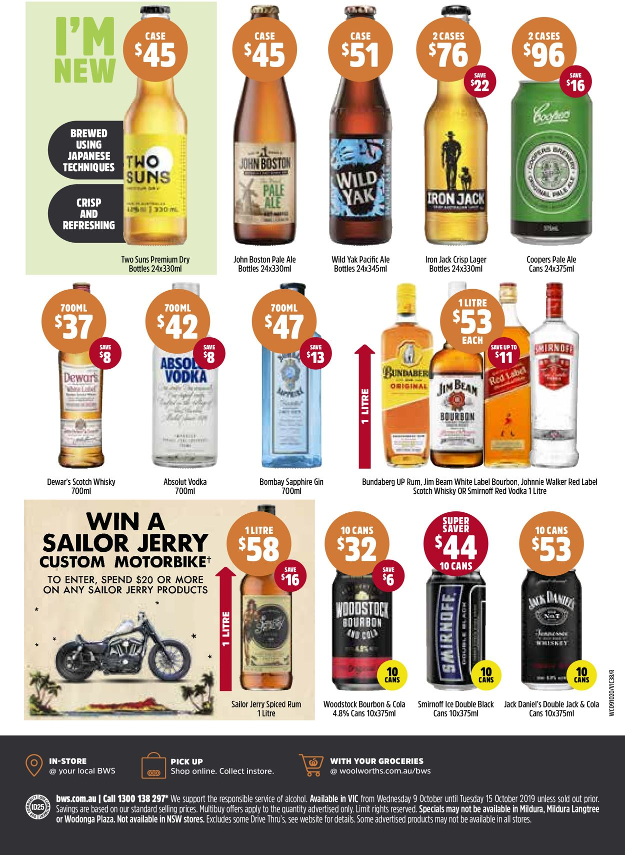Woolworths Catalogue - 09/10-15/10/2019 (Page 38)