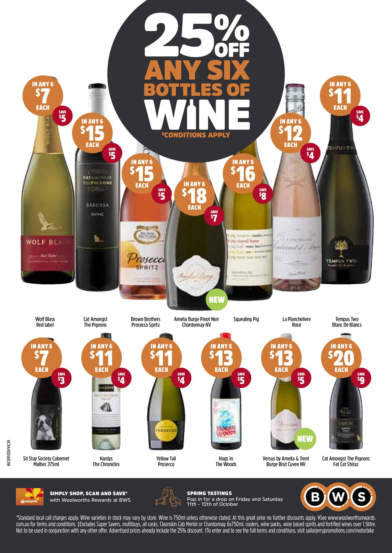 Woolworths Catalogue - 09/10-15/10/2019 (Page 39)