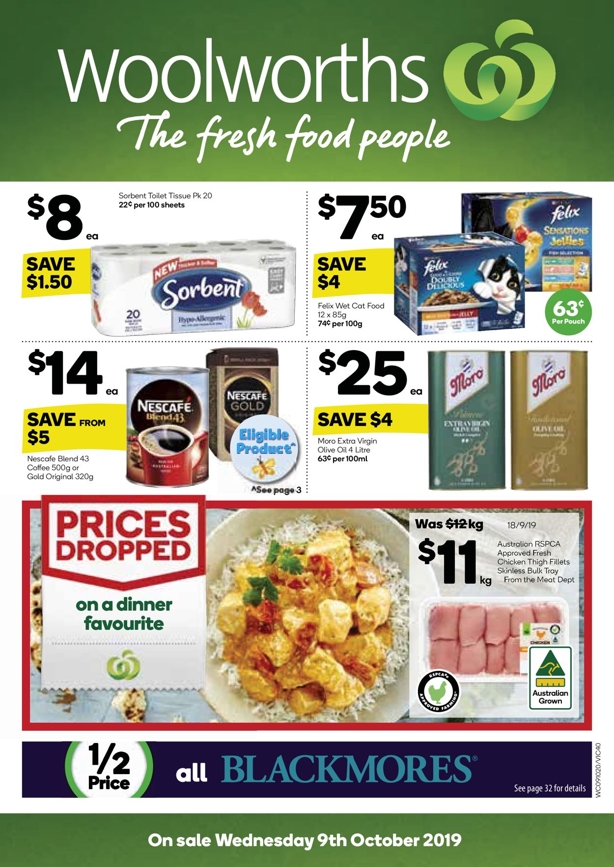 Woolworths Catalogue - 09/10-15/10/2019 (Page 40)