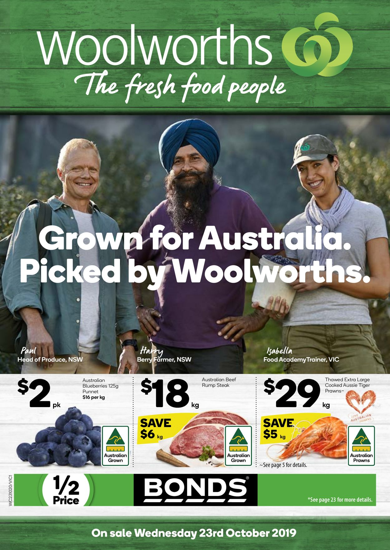 Woolworths Catalogue - 23/10-29/10/2019