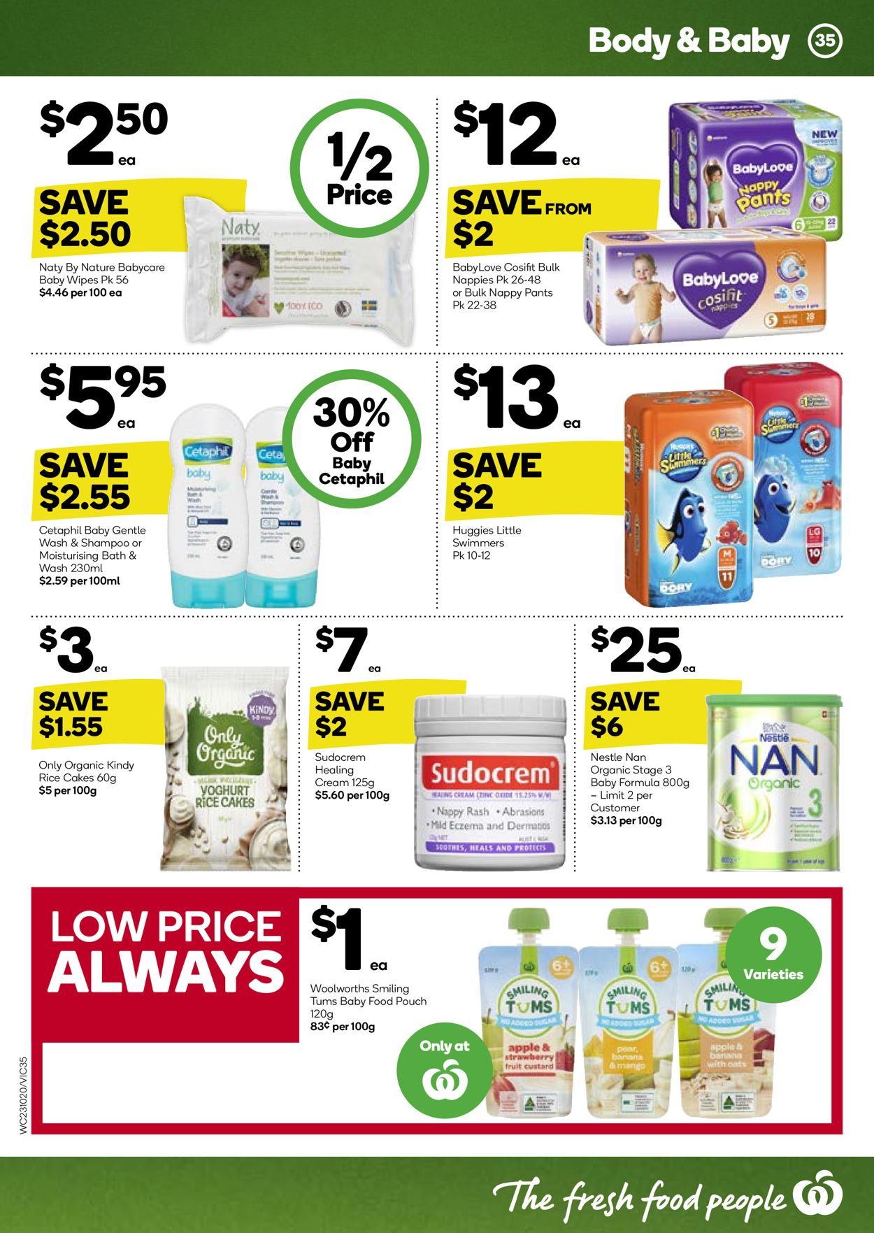 Woolworths Catalogue - 23/10-29/10/2019 (Page 35)
