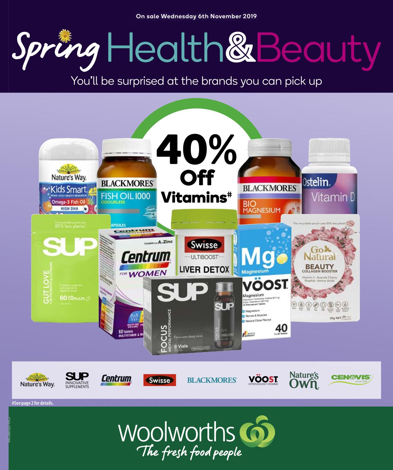 Woolworths Catalogue - 06/11-12/11/2019