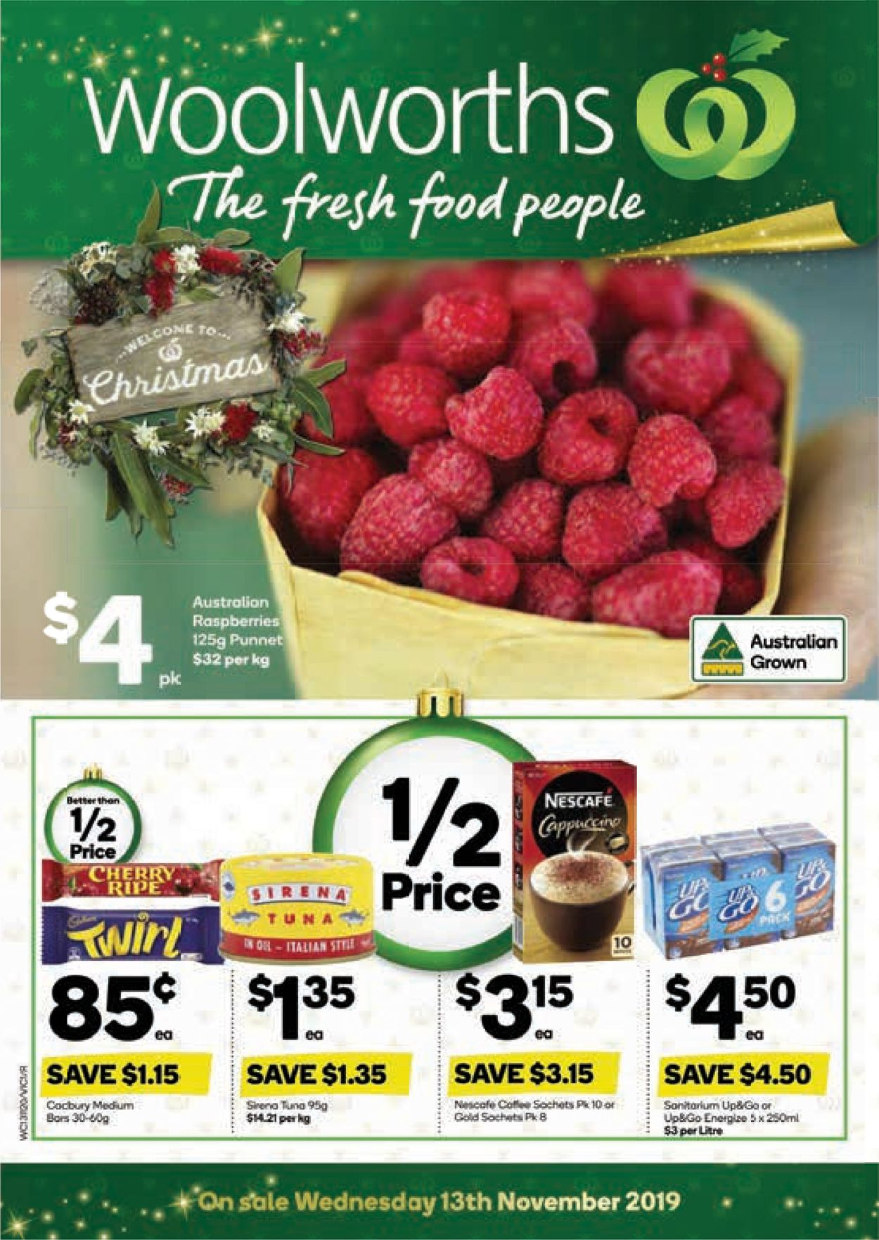 Woolworths Catalogue - 13/11-19/11/2019