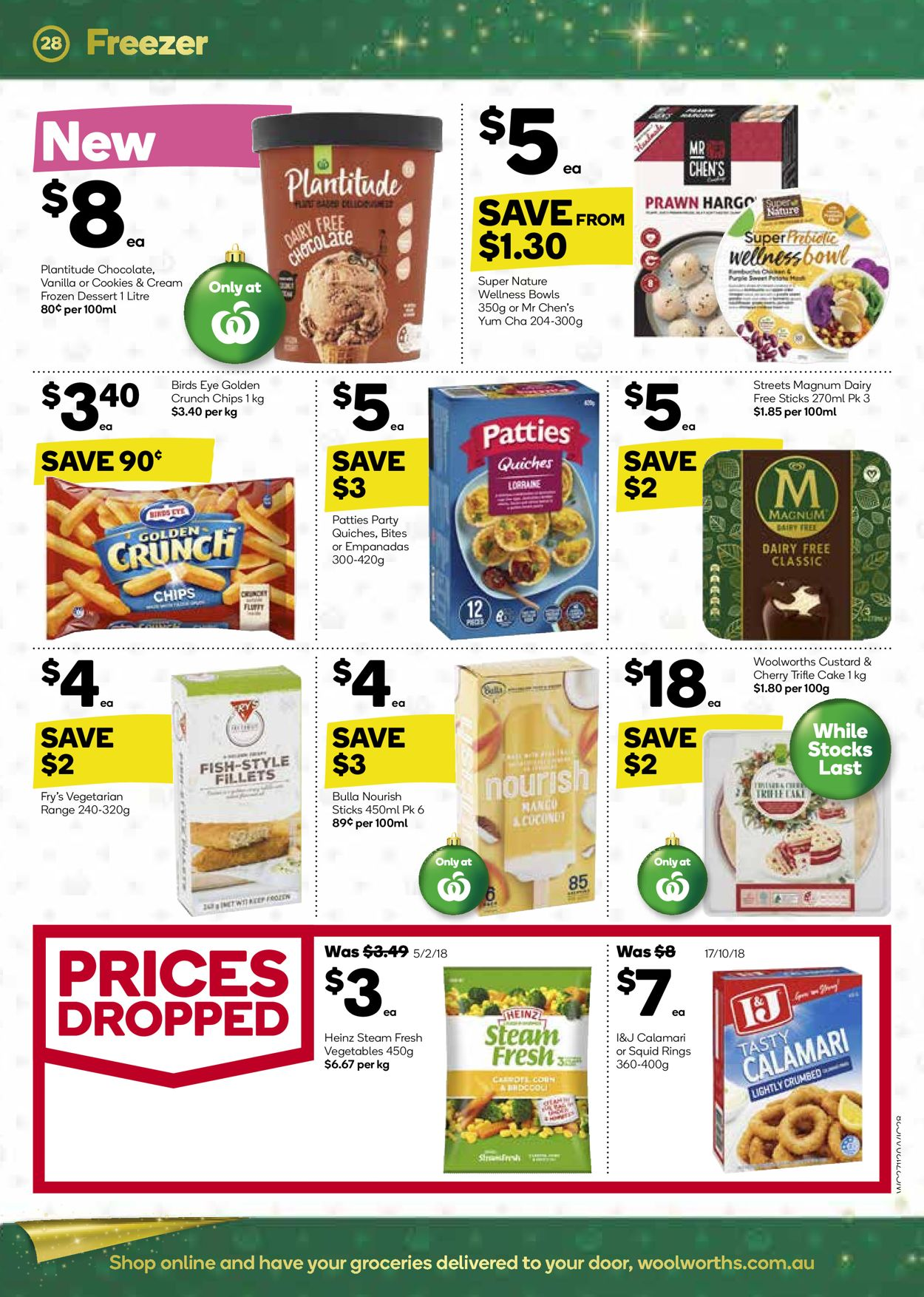 Woolworths Christmas Catalogue 2019 Catalogue - 27/11-03/12/2019 (Page 28)