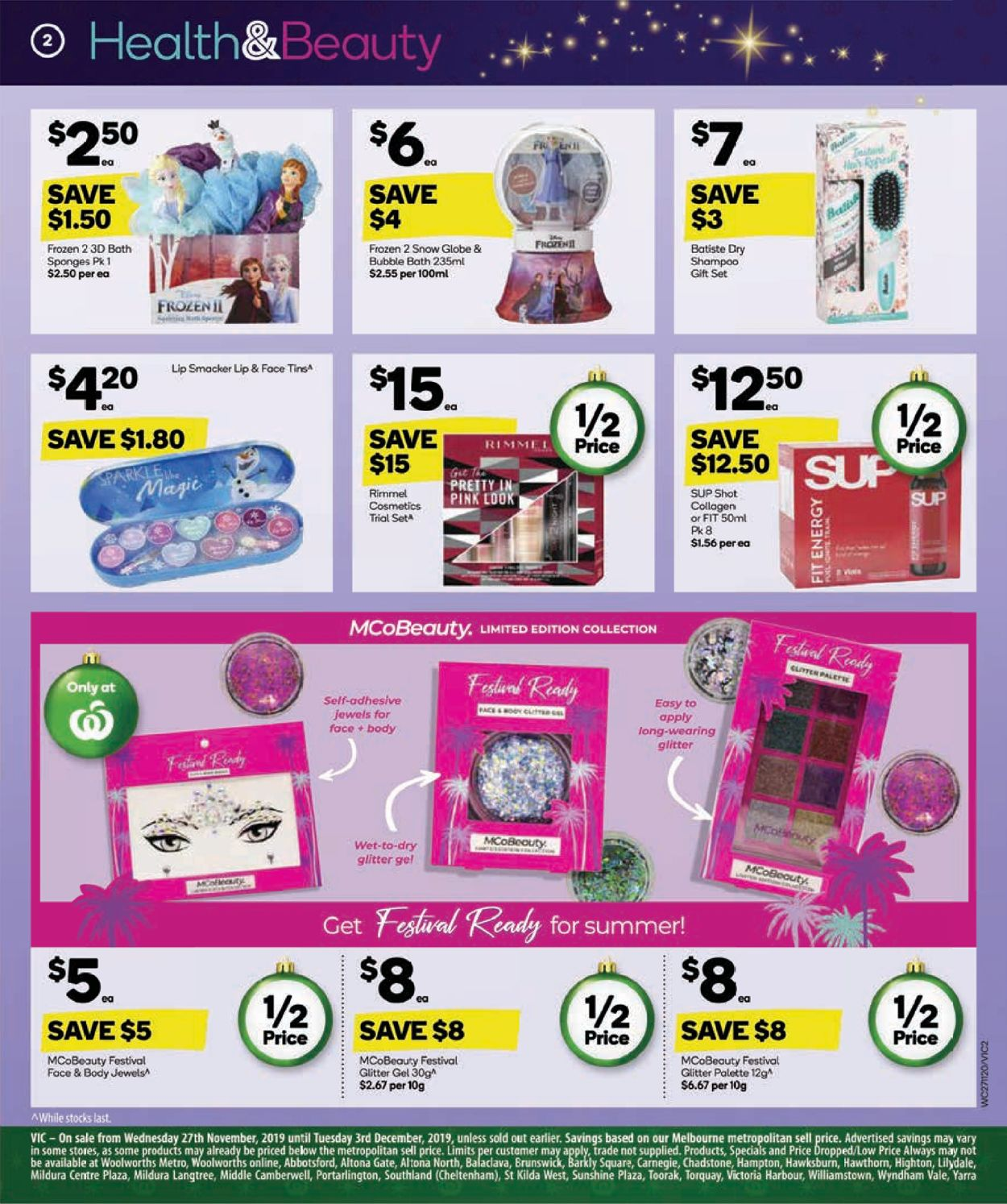 Woolworths Catalogue - 27/11-03/12/2019 (Page 2)