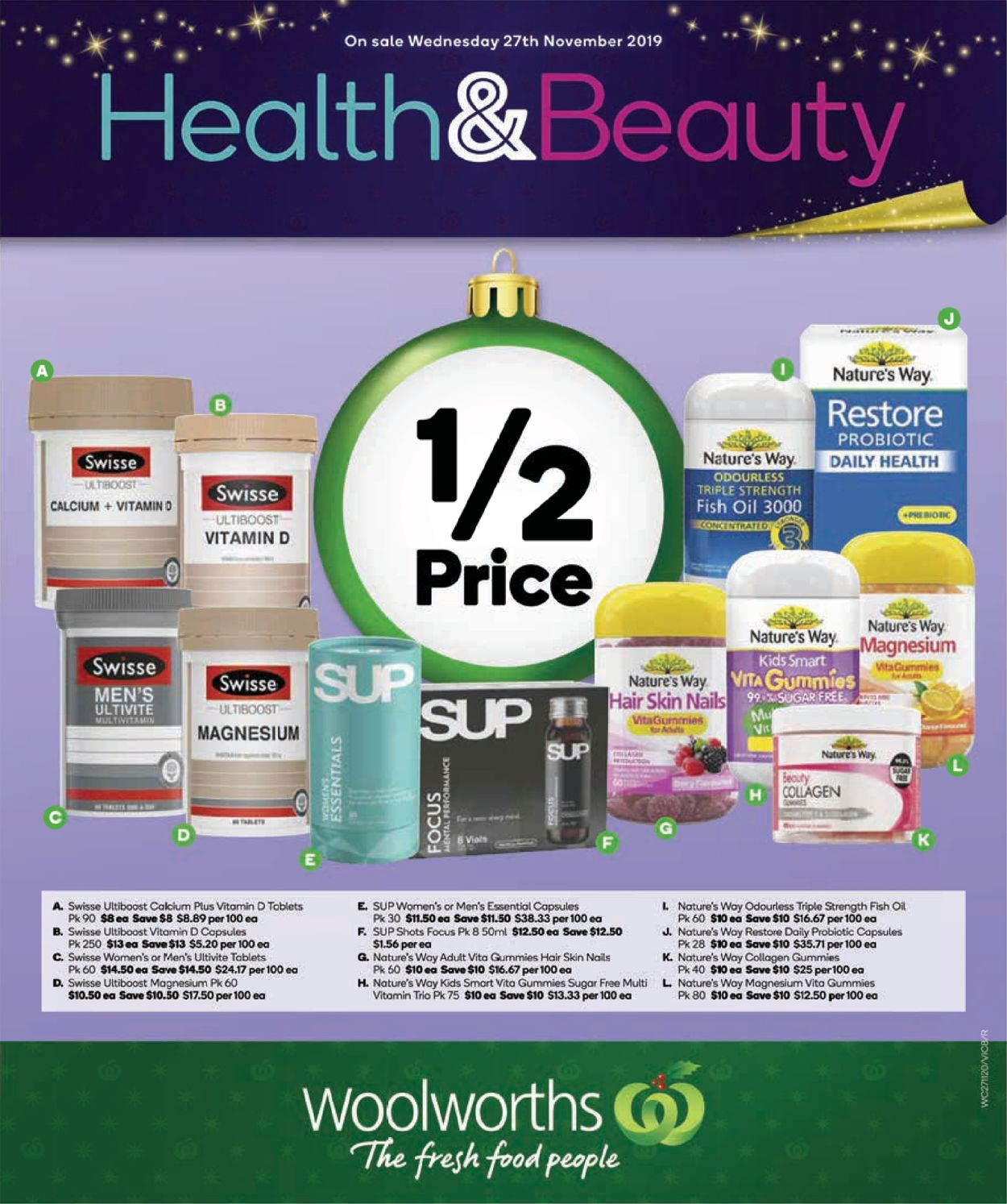 Woolworths Catalogue - 27/11-03/12/2019 (Page 8)
