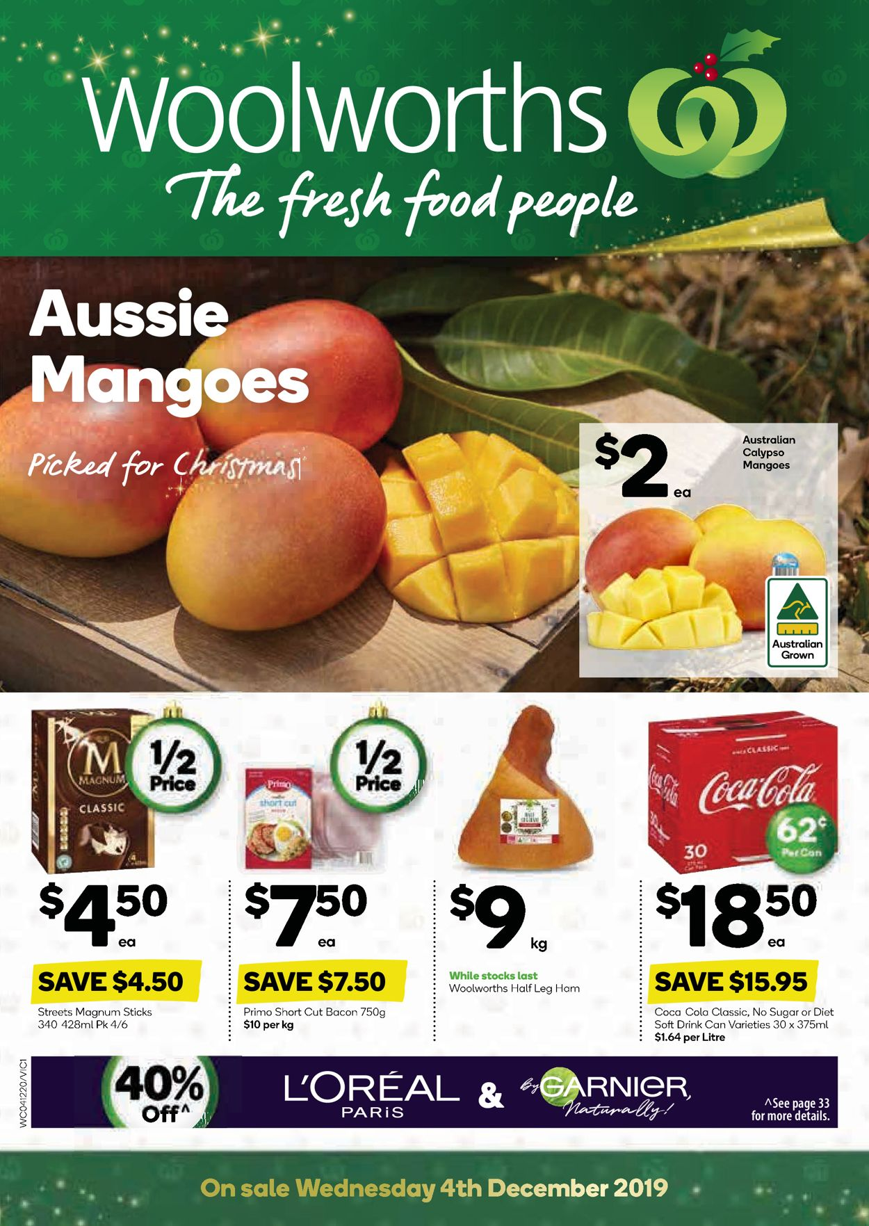 Woolworths Christmas Catalogue 2019 Catalogue - 04/12-10/12/2019