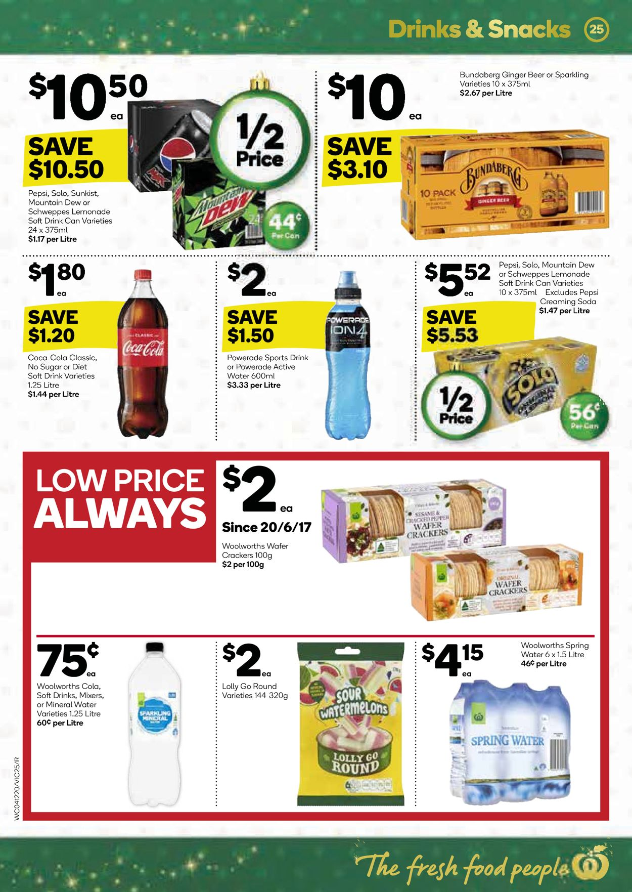 Woolworths Christmas Catalogue 2019 Catalogue - 04/12-10/12/2019 (Page 25)