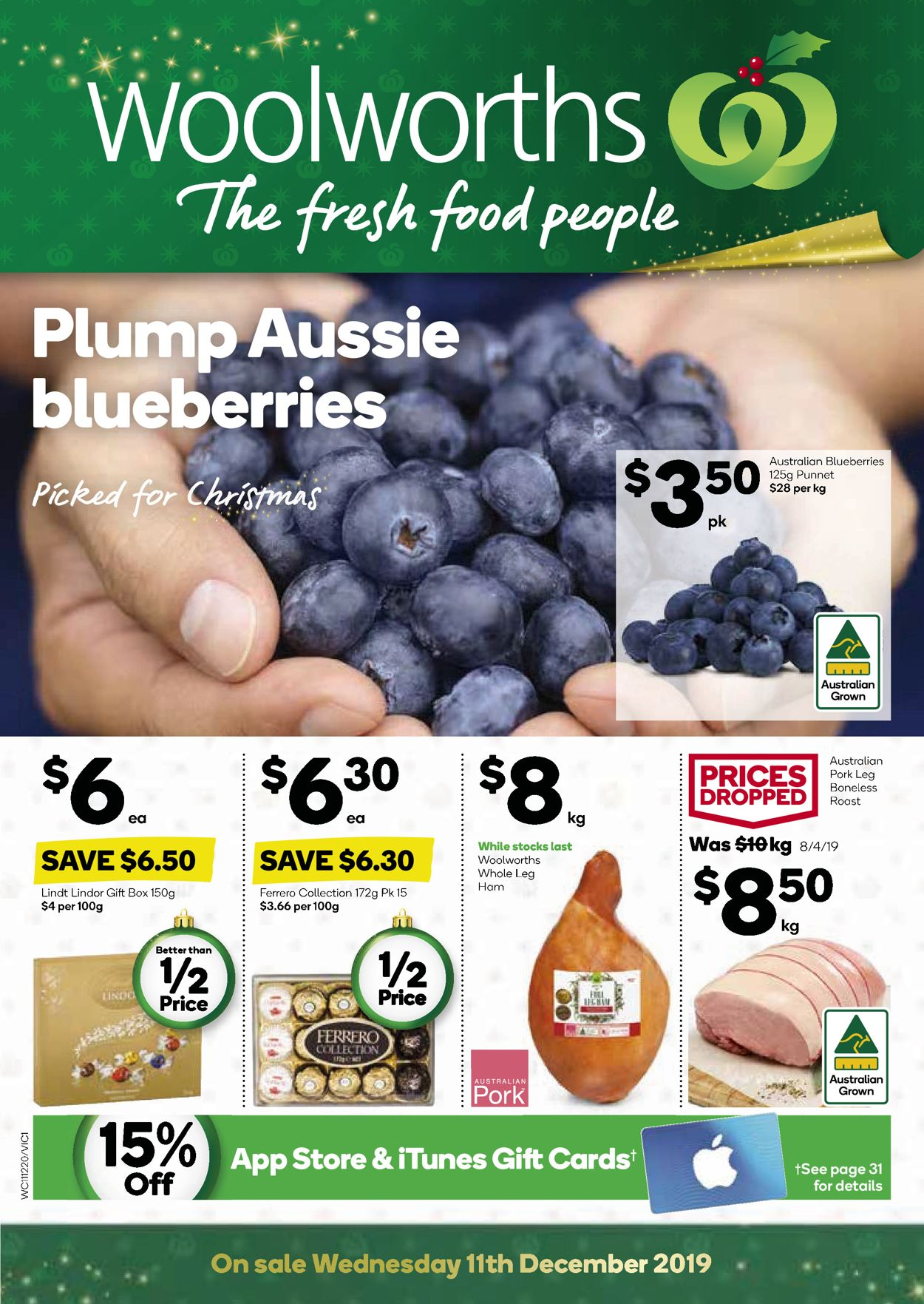 Woolworths Christmas Catalogue 2019 Catalogue - 11/12-17/12/2019