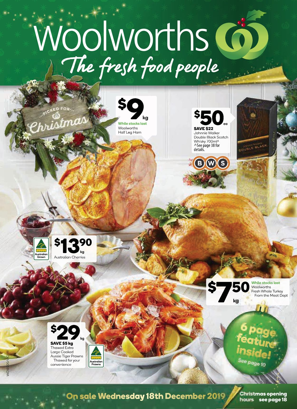 Woolworths Christmas Catalogue 2019 Catalogue - 18/12-25/12/2019