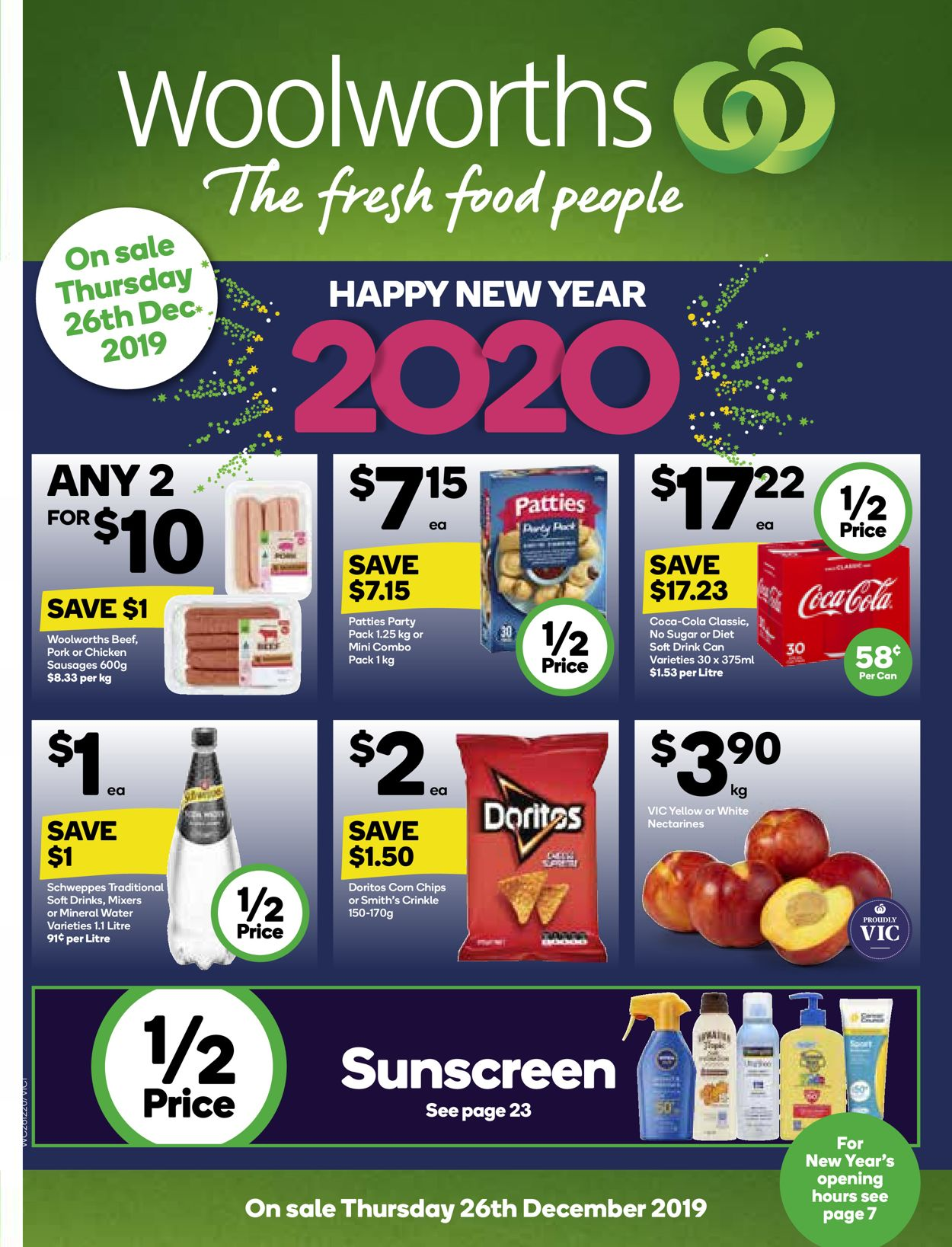 Woolworths New Year Catalogue 2019/2020 Catalogue - 26/12-01/01/2020