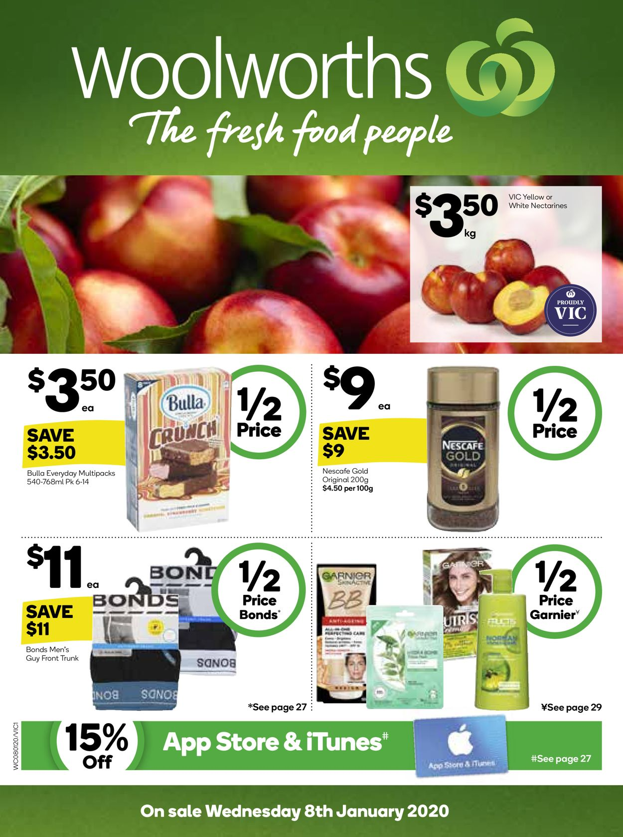 Woolworths Catalogue - 08/01-14/01/2020