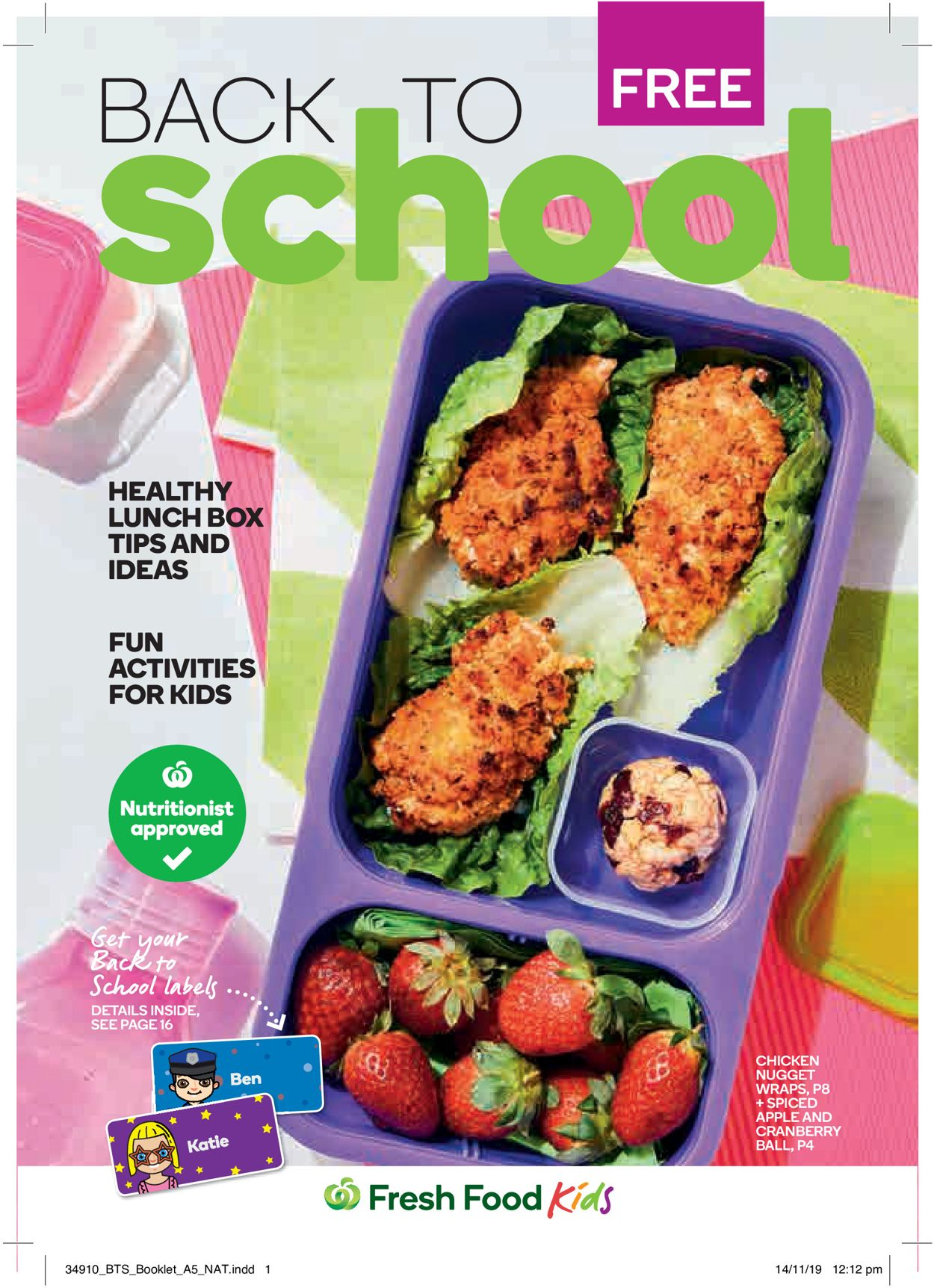 Woolworths Back to School Catalogue - 01/01-31/03/2020