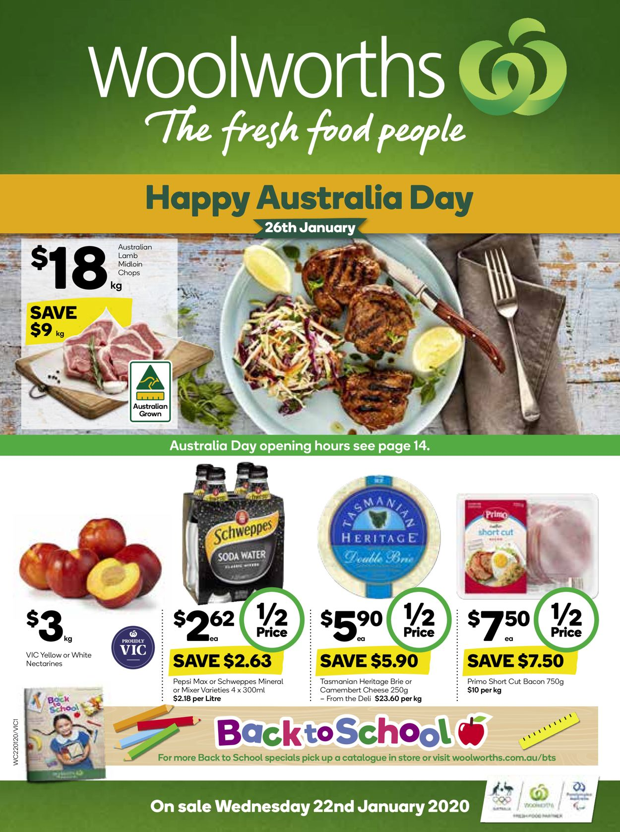 Woolworths Catalogue - 22/01-28/01/2020