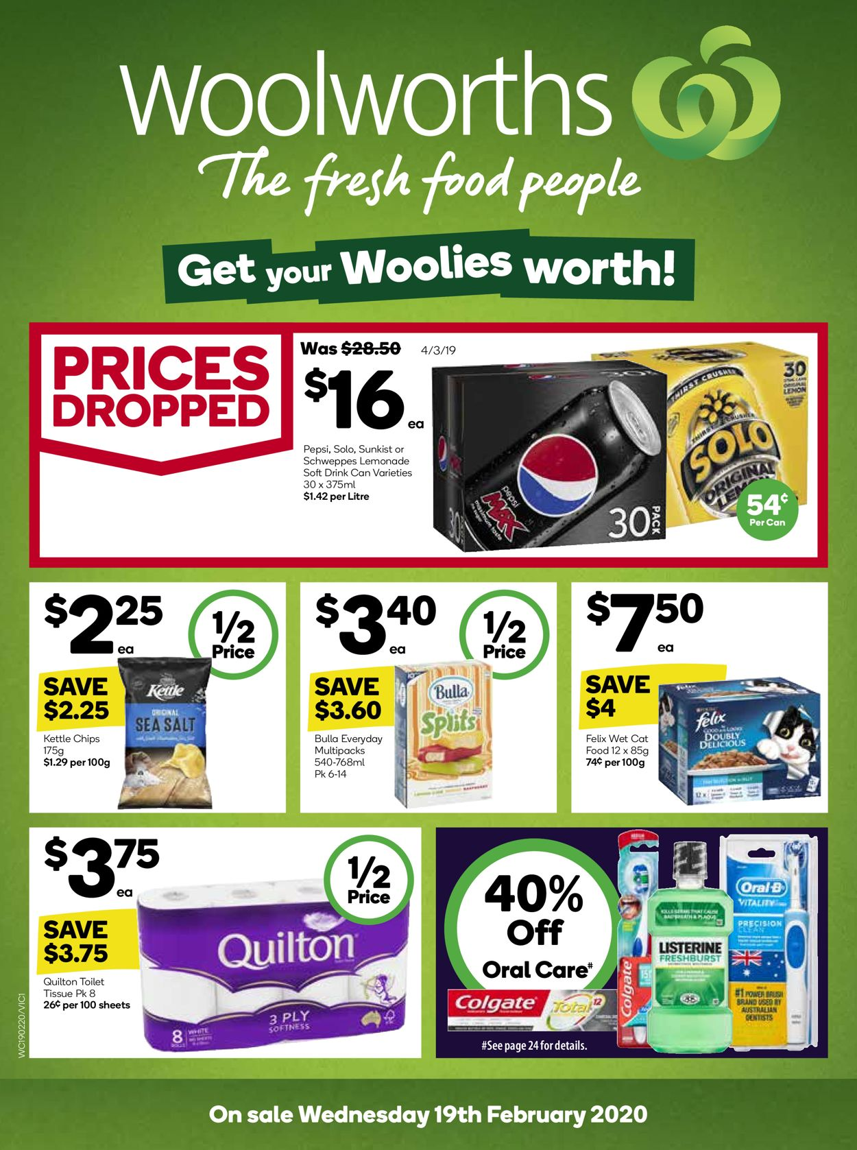Woolworths Catalogue - 19/02-25/02/2020