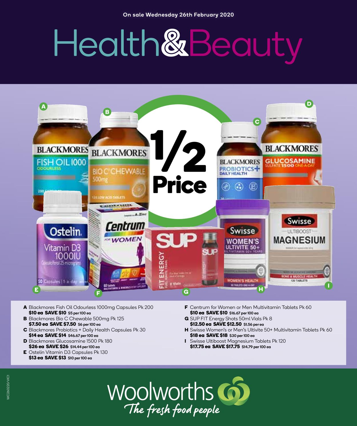 Woolworths Catalogue - 26/02-03/03/2020