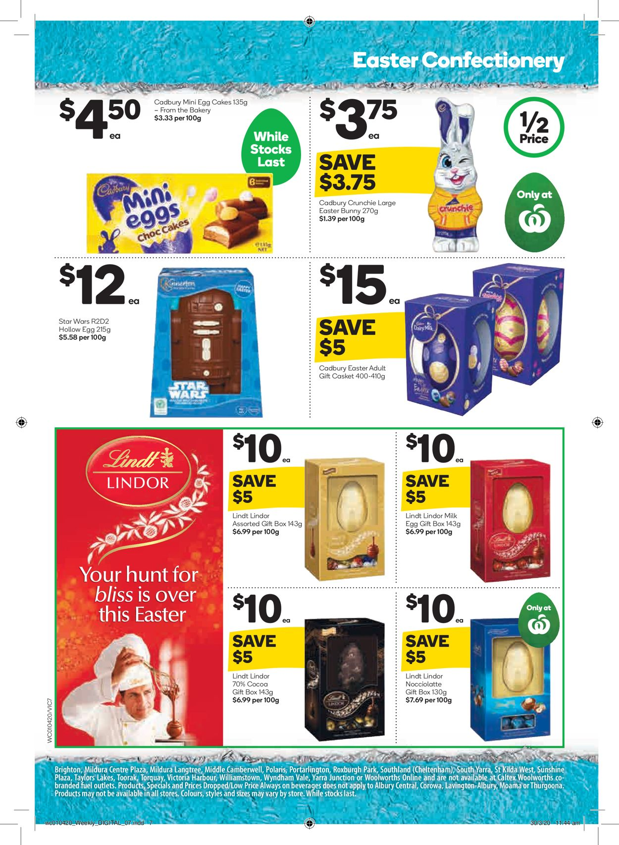 Woolworths Catalogue - 01/04-07/04/2020 (Page 7)