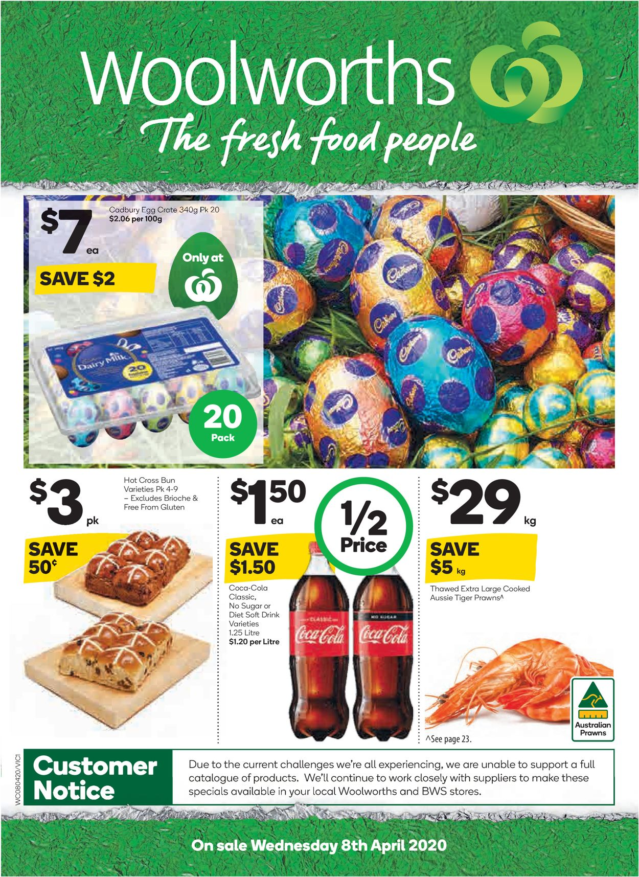 Woolworths Easter Catalogue 2020 Catalogue - 08/04-14/04/2020