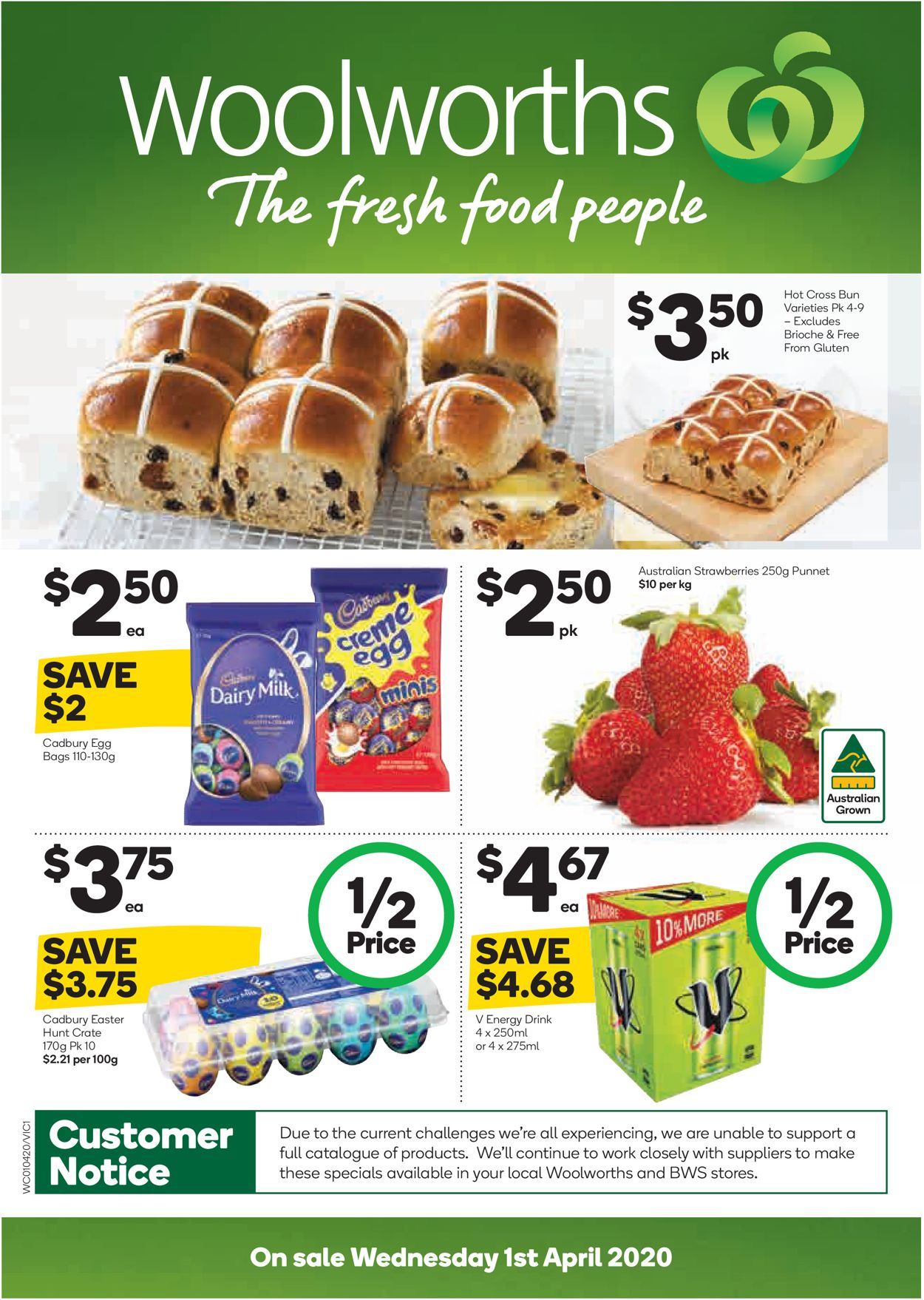 Woolworths Easter Catalogue 2020 Catalogue - 01/04-07/04/2020