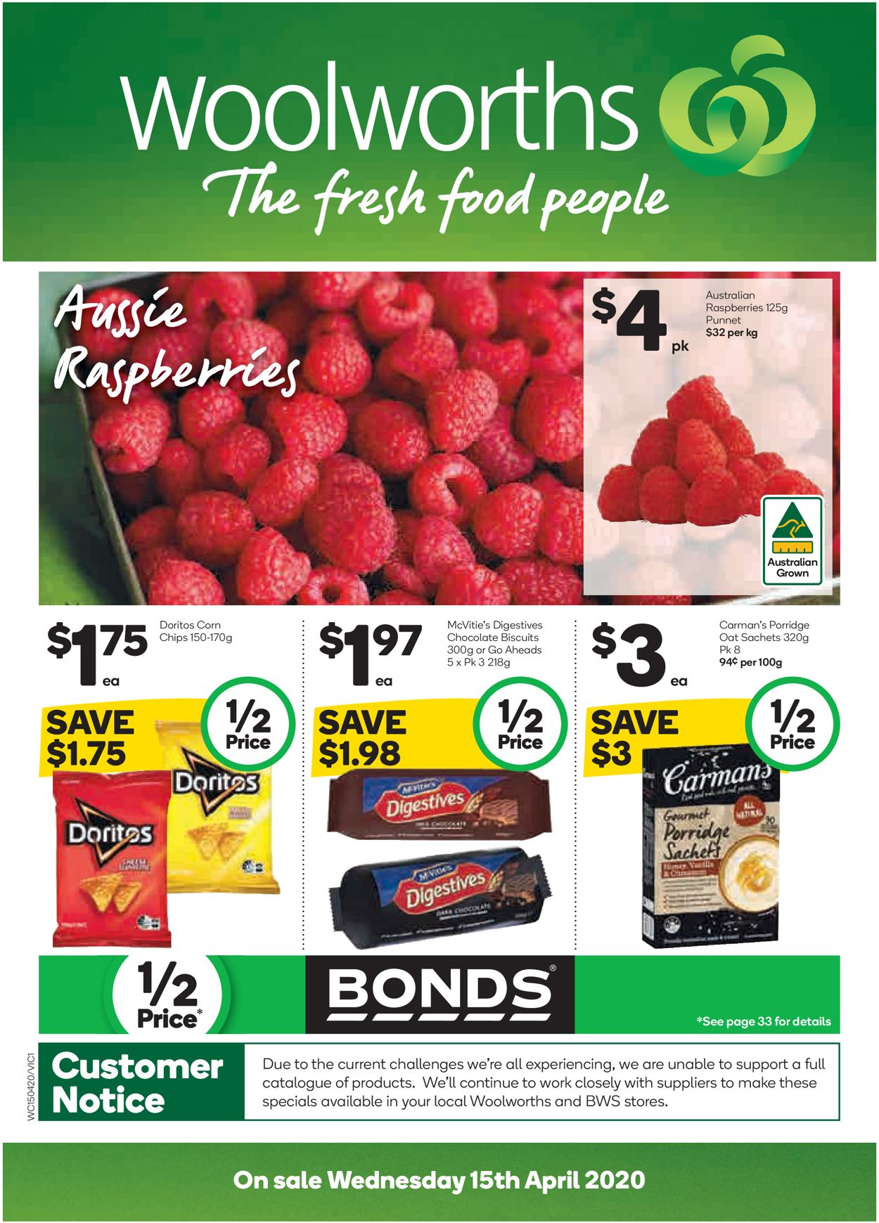 Woolworths Catalogue - 15/04-21/04/2020