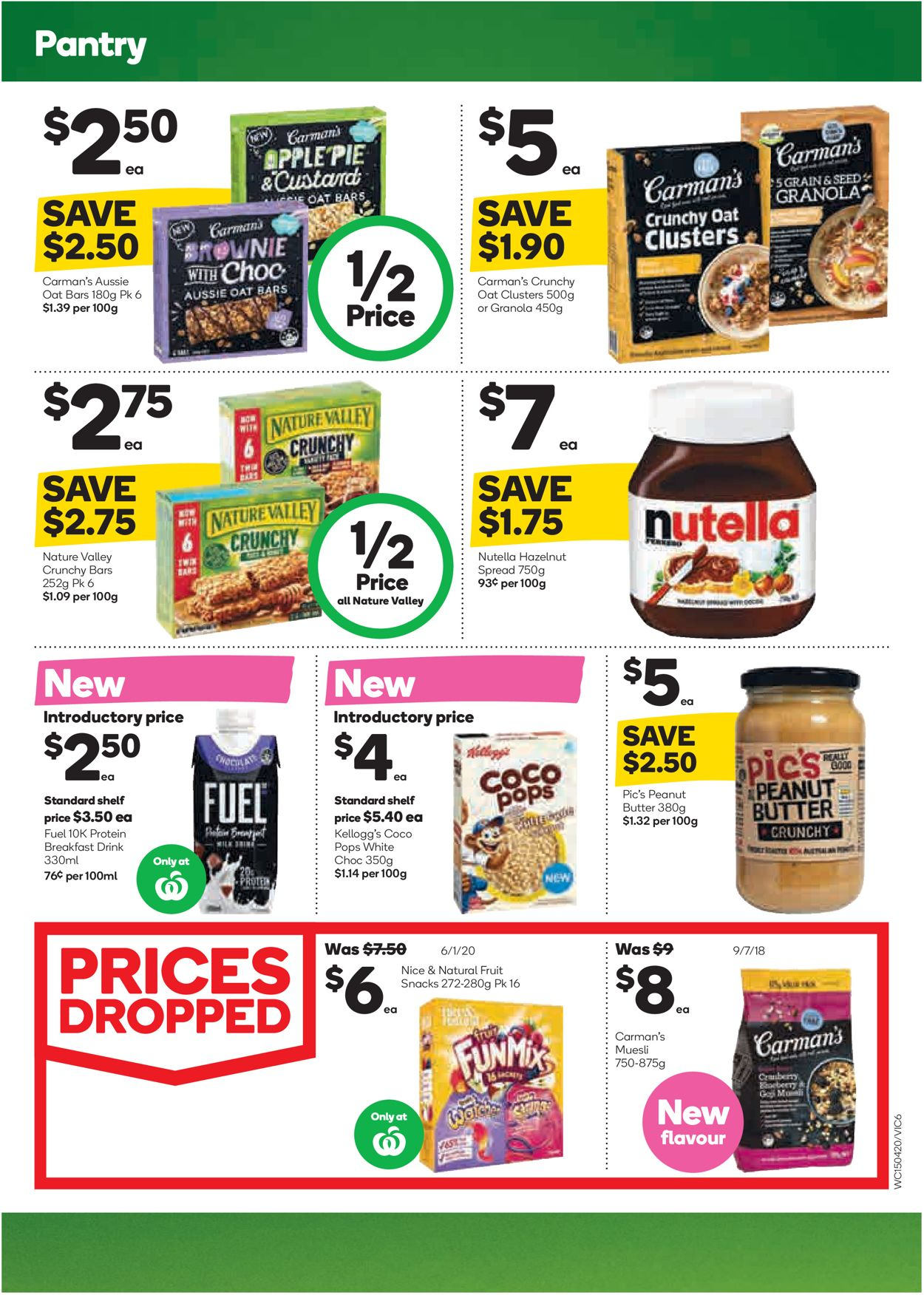 Woolworths Catalogue - 15/04-21/04/2020 (Page 10)