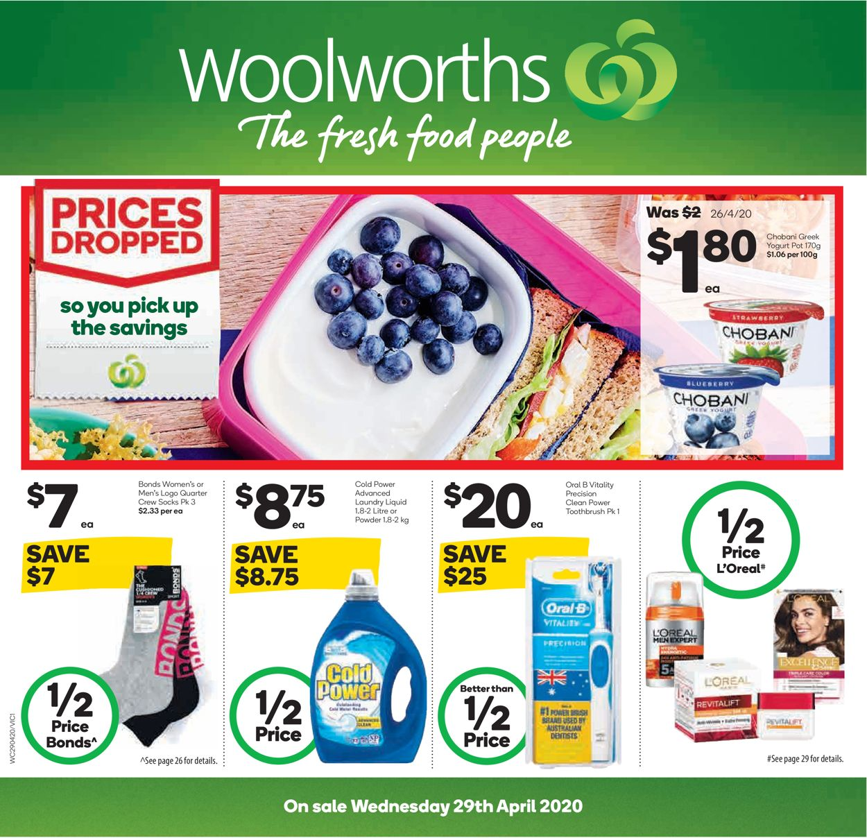 Woolworths Catalogue - 29/04-05/05/2020