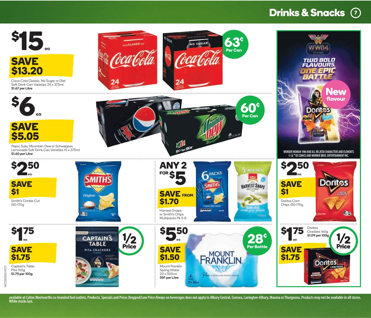 Woolworths Catalogue - 13/05-19/05/2020 (Page 7)