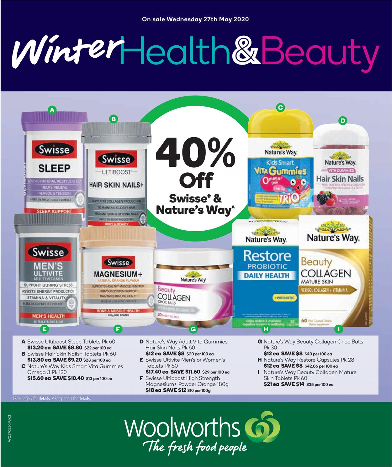 Woolworths Catalogue - 27/05-02/06/2020