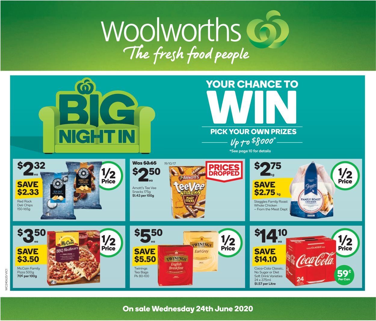 Woolworths Catalogue - 24/06-30/06/2020