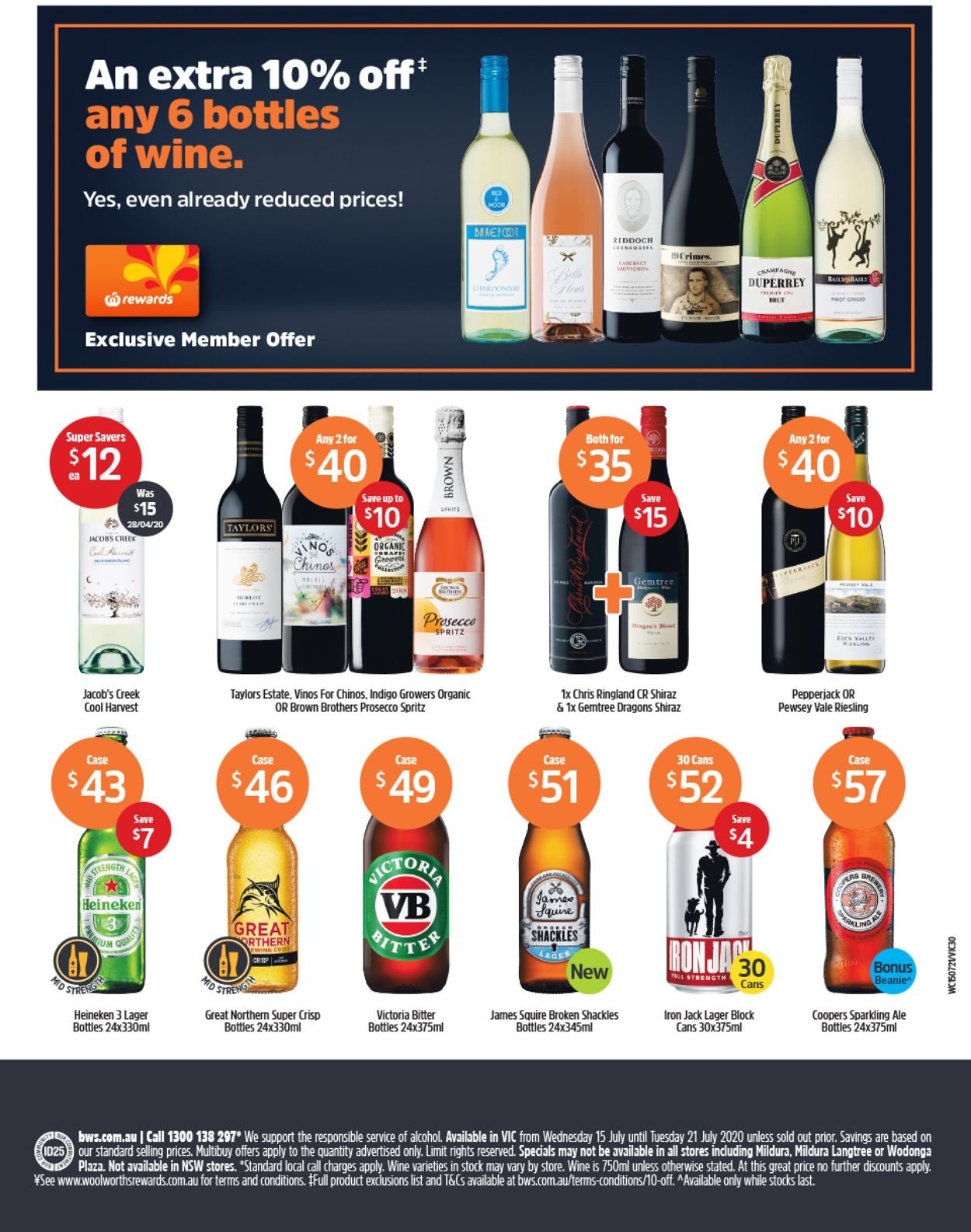 Woolworths Catalogue - 15/07-21/07/2020 (Page 50)