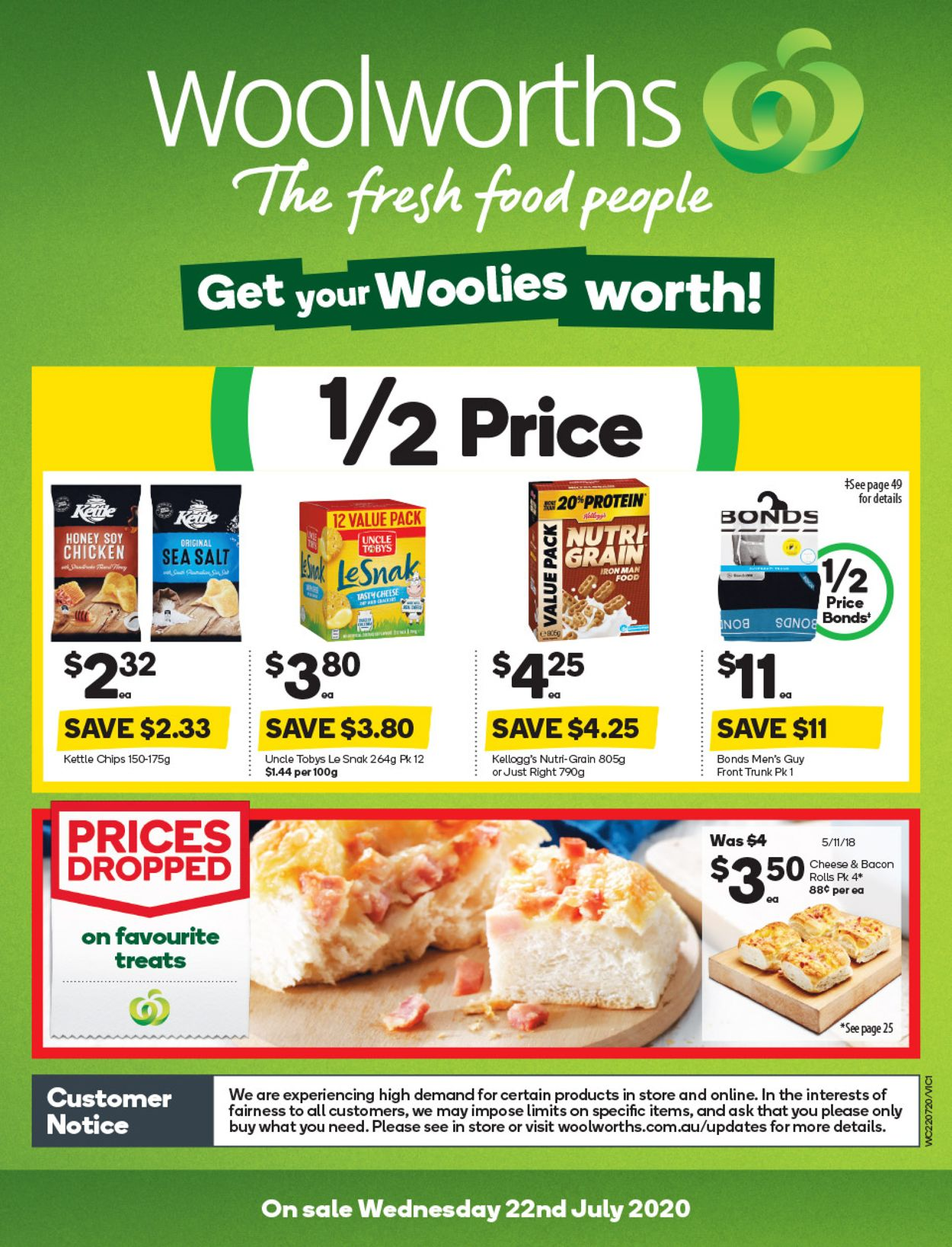 Woolworths Catalogue - 22/07-28/07/2020