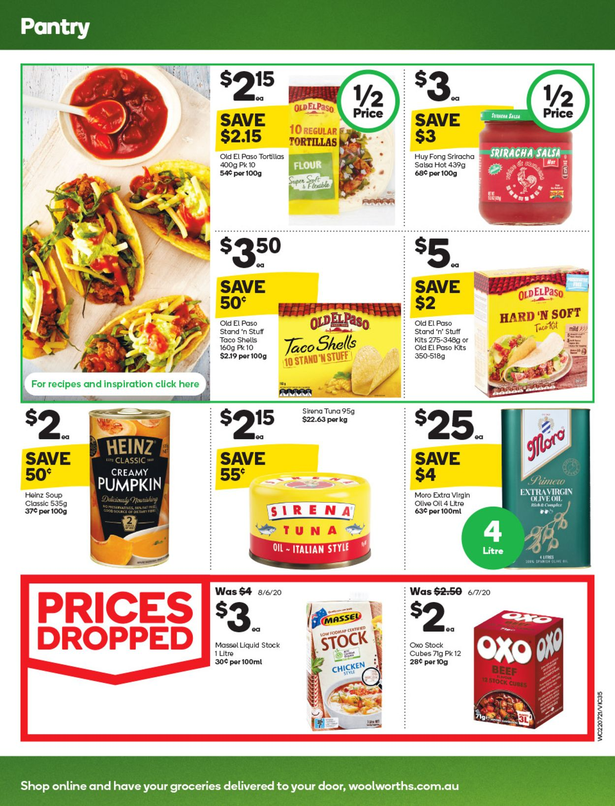 Woolworths Catalogue - 22/07-28/07/2020 (Page 35)